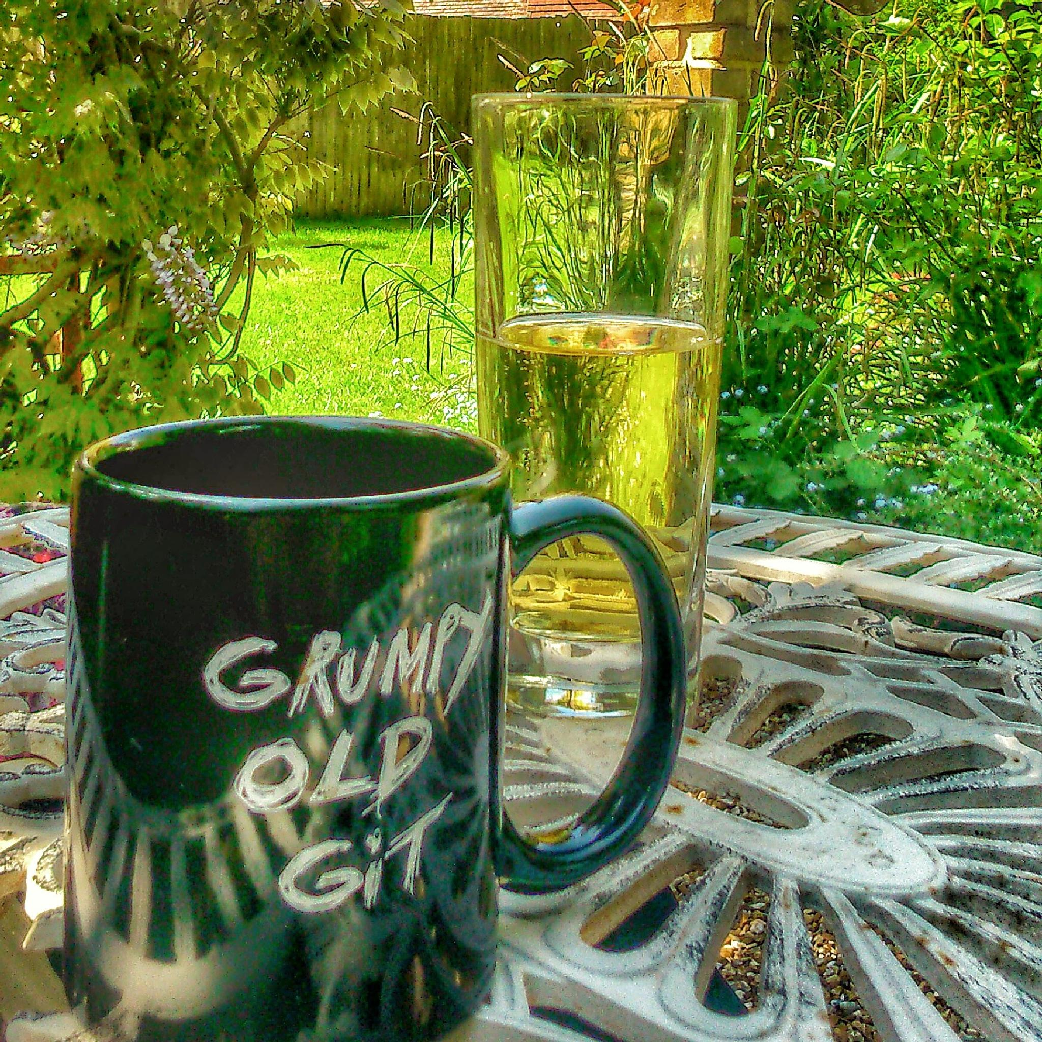 DRINKS IN THE GARDEN by BugOlsson
