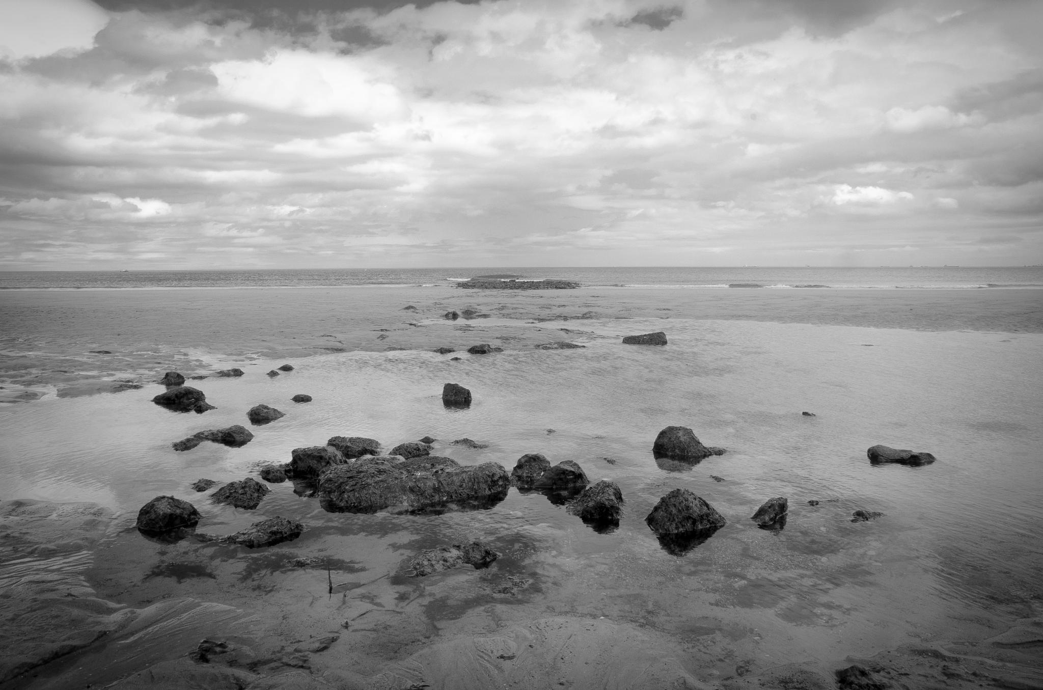 Hartlepool Headland Beach  by GreenLady121