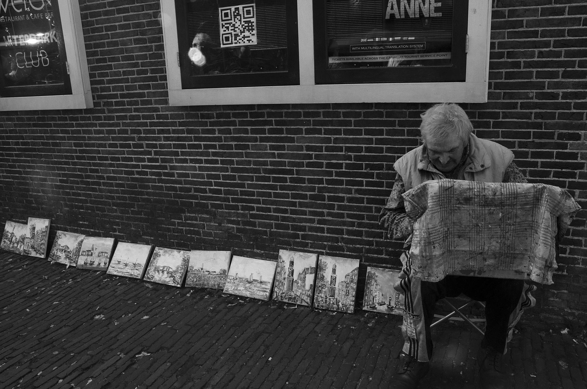 Amsterdam Painter by GreenLady121
