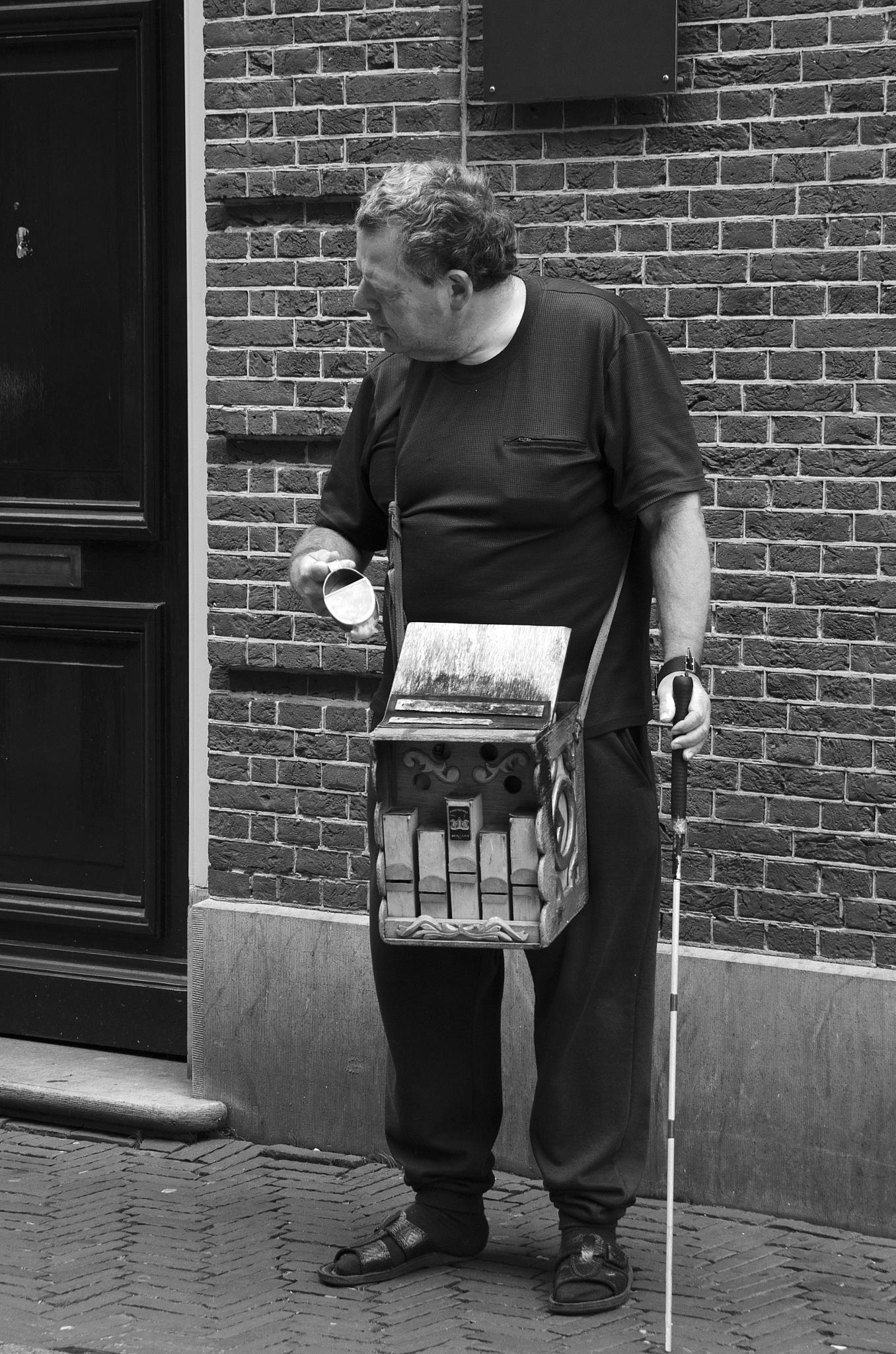 music man Amsterdam by GreenLady121