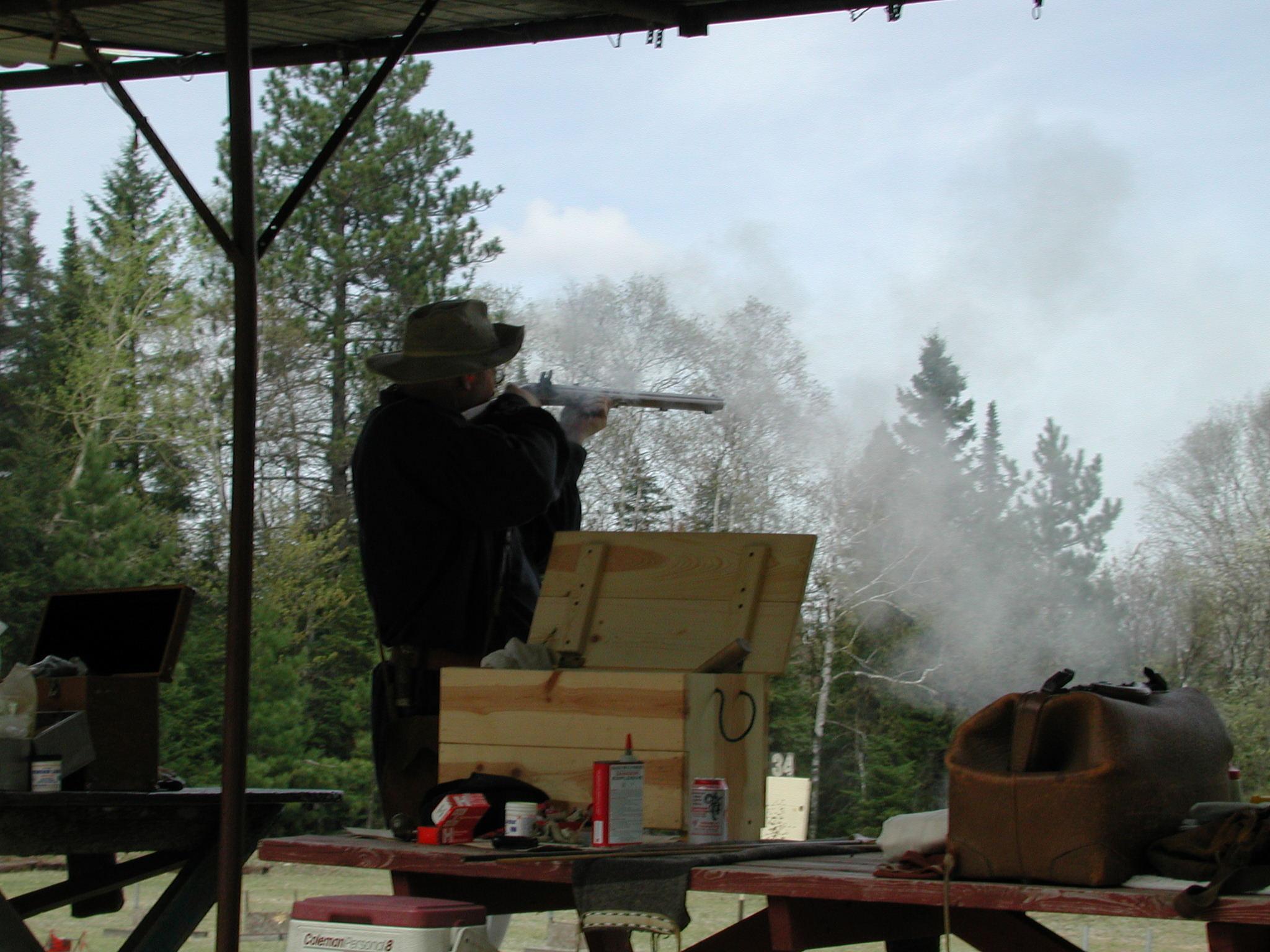 Squinty-eye Black powder shoot by wes.johnson.58