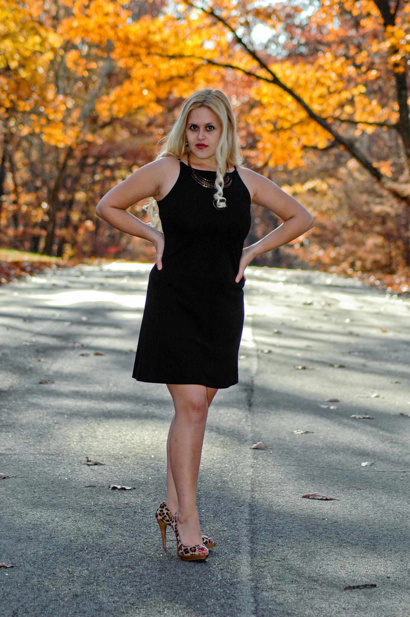 Amber's little black dress by wes.johnson.58