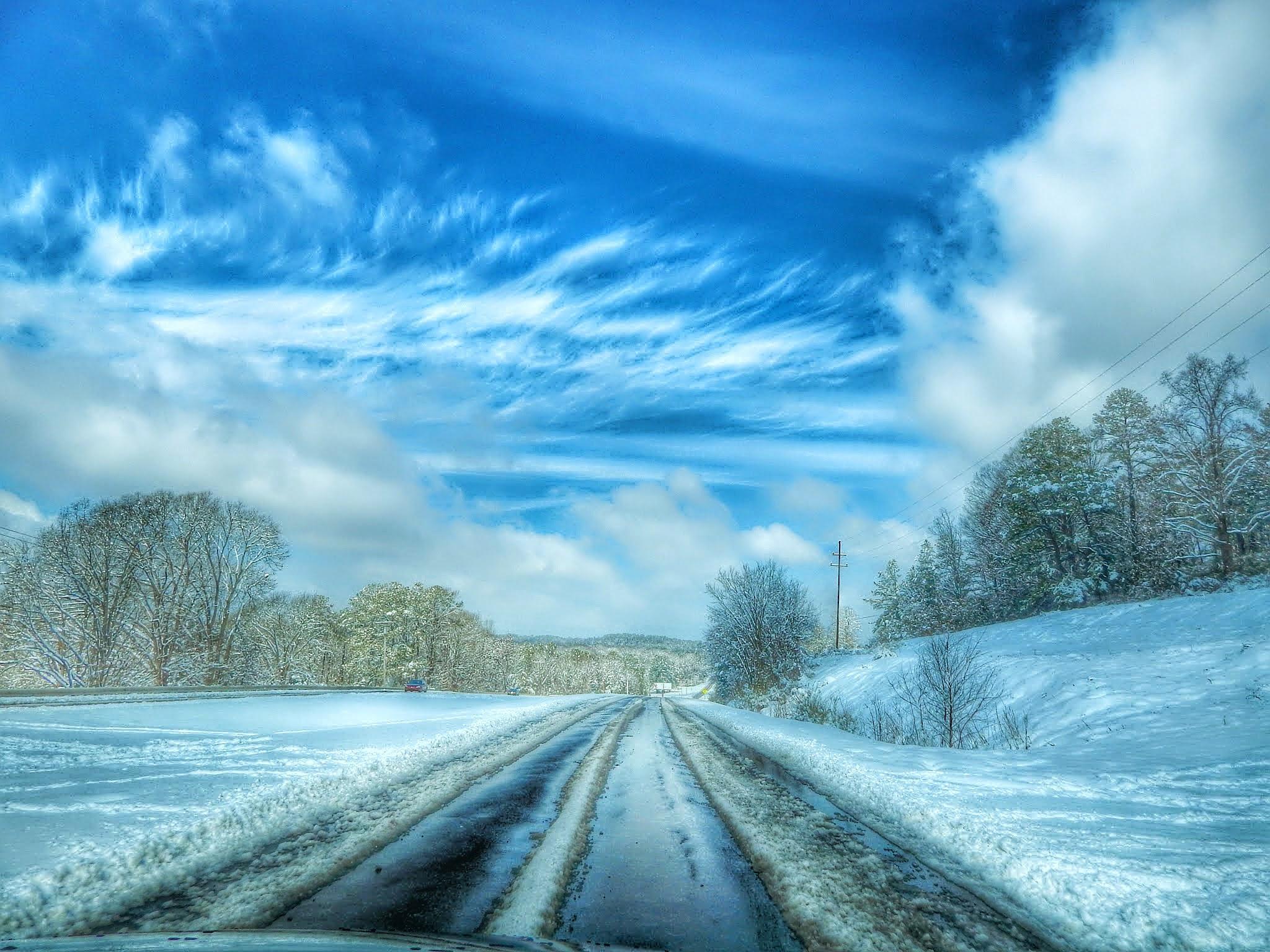 Beautiful Snowy Day by Cindy Eddy
