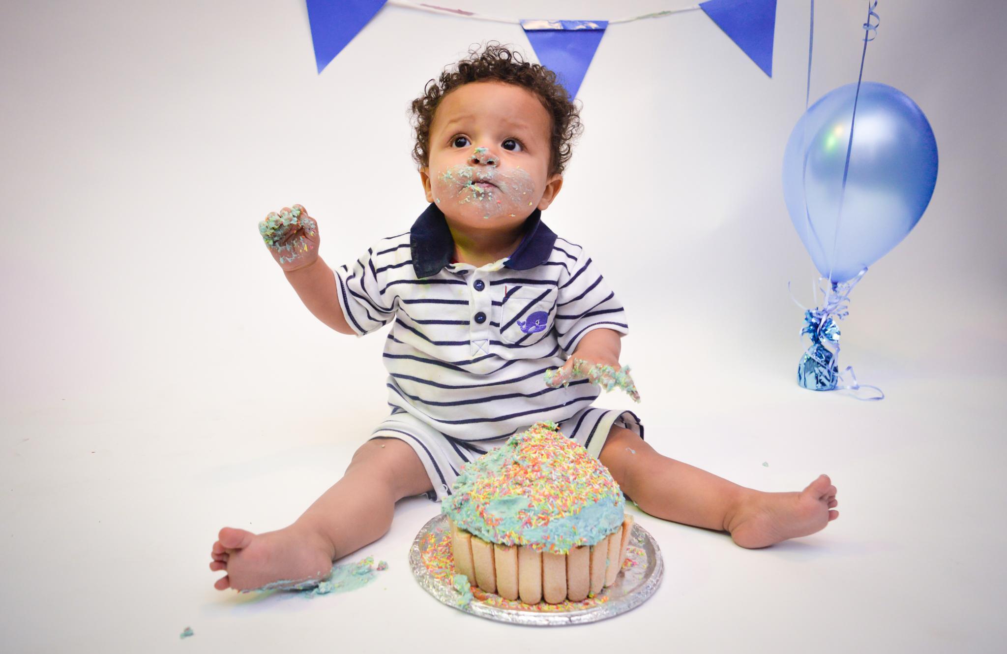 Photo in Portrait #cake #cakesmash #child #portrait #photography #photo #youpic #food #colour