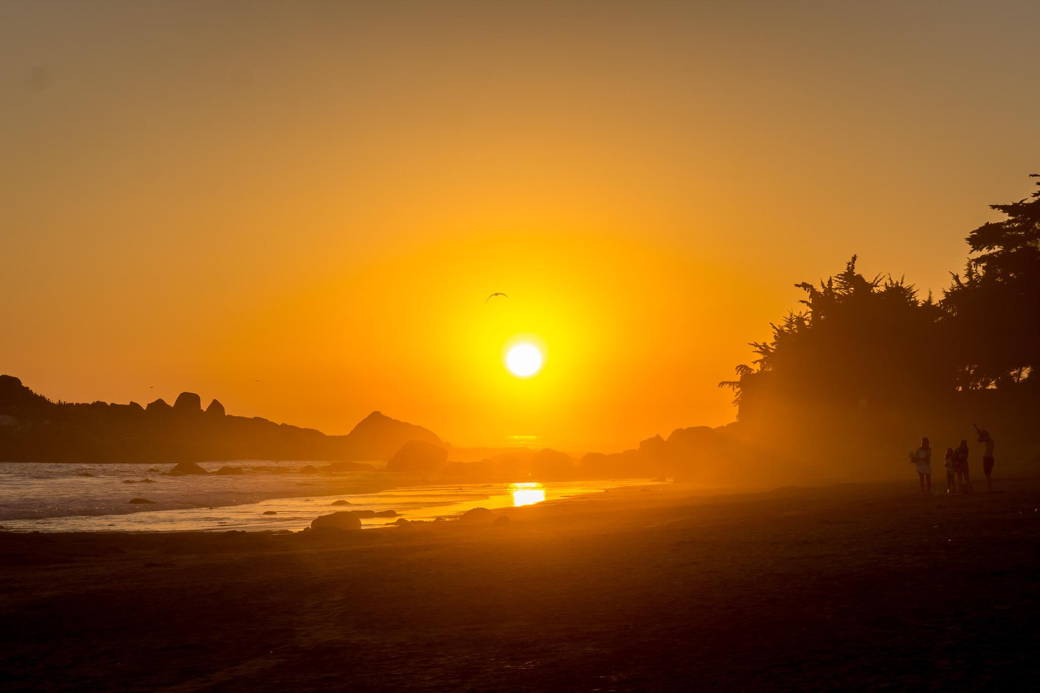 Romantic Sunset by Daniel M.