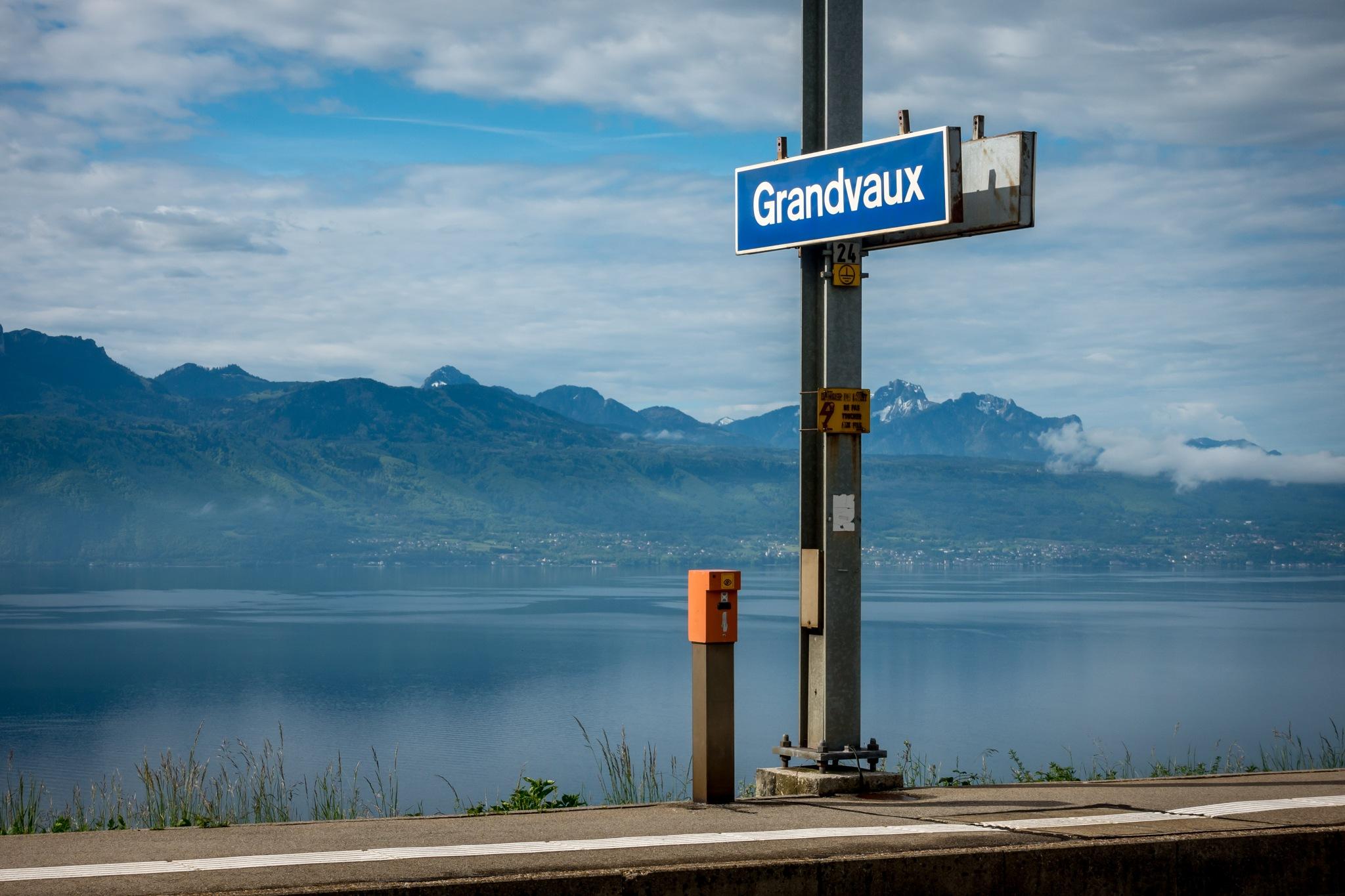 Grandvaux Gare by Daniel M.