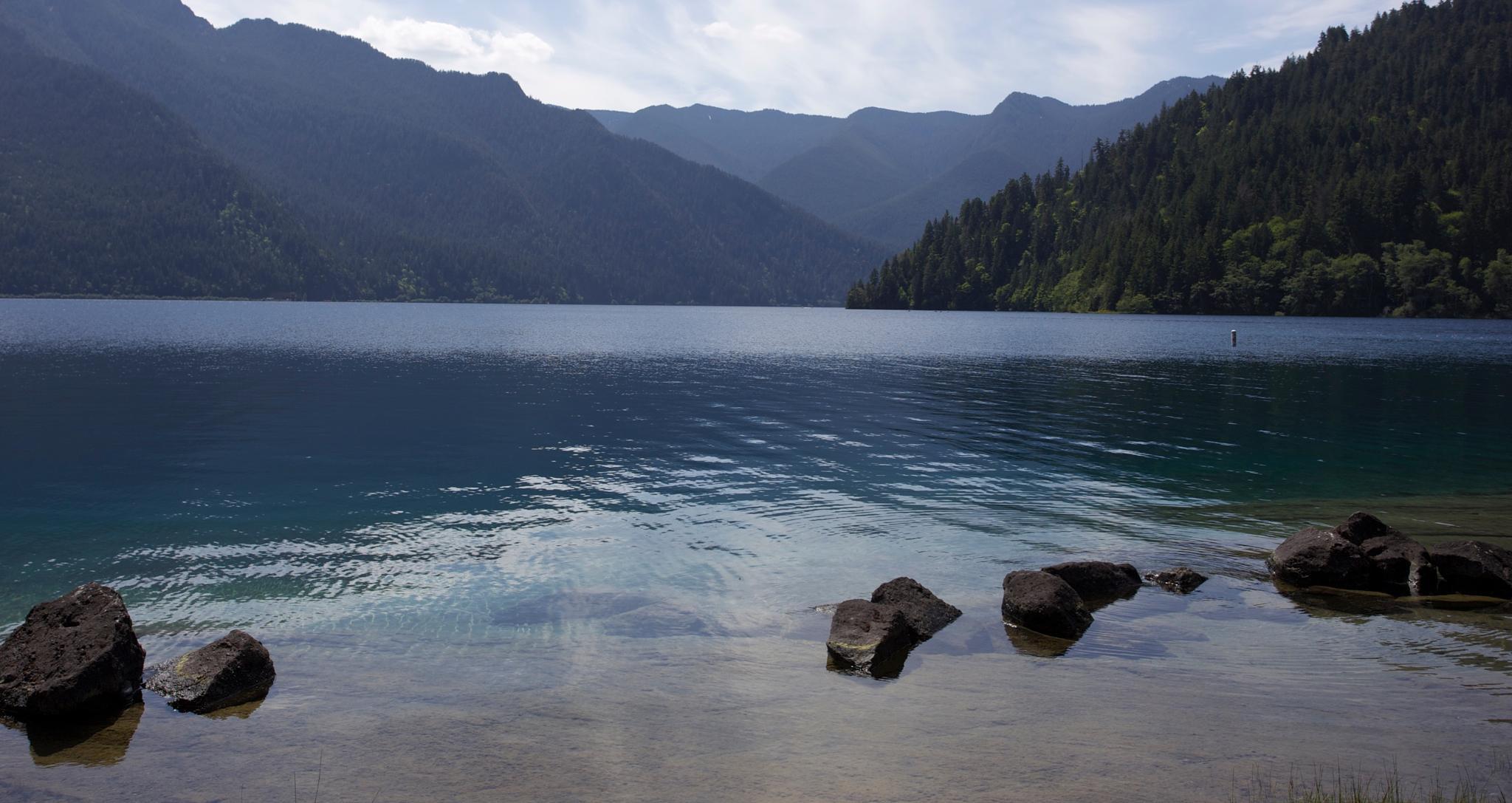 Crescent Lake by wdwbarrett