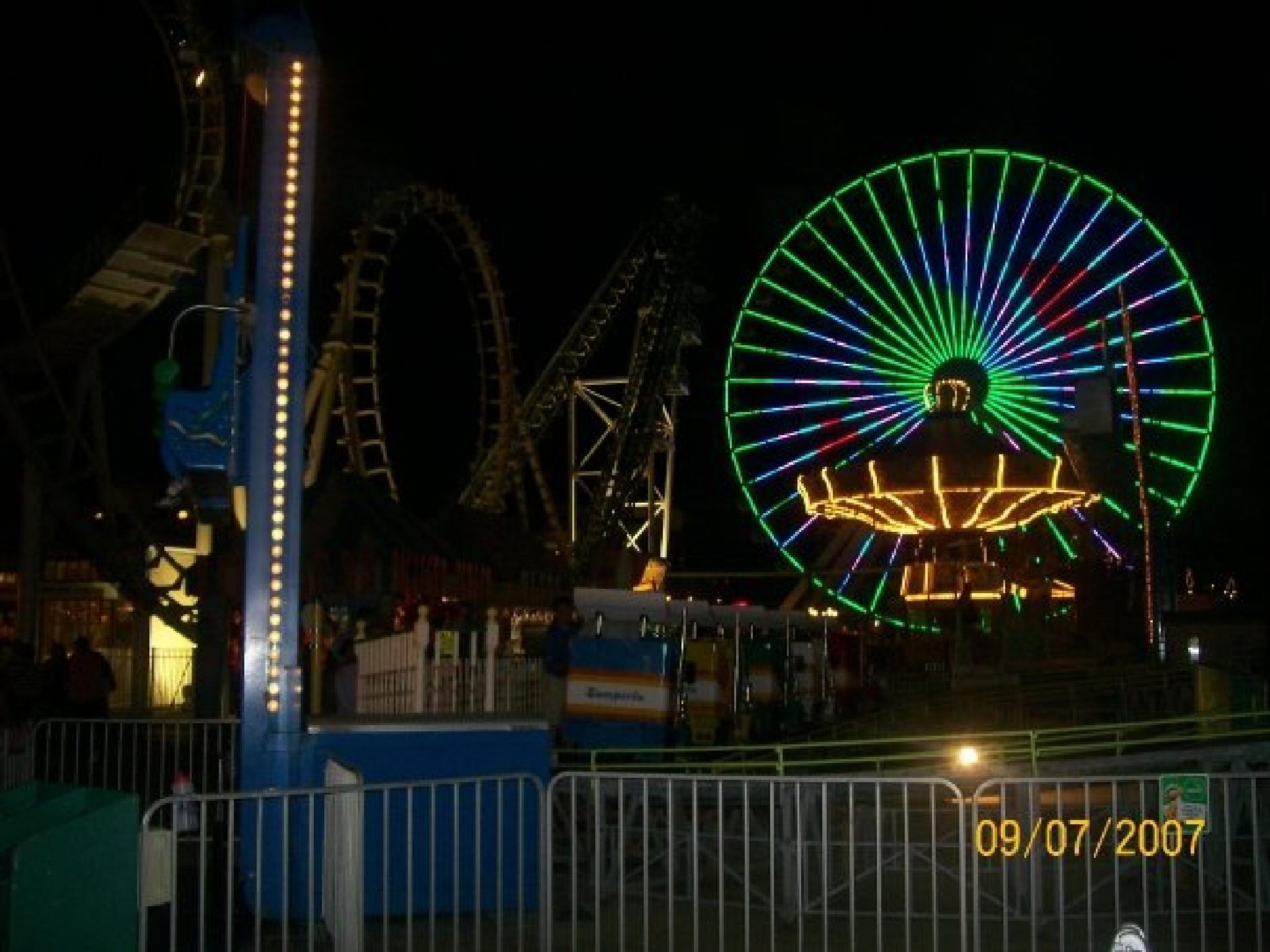 Amusement Park, Wildwood, NJ by philipanthonyreilly