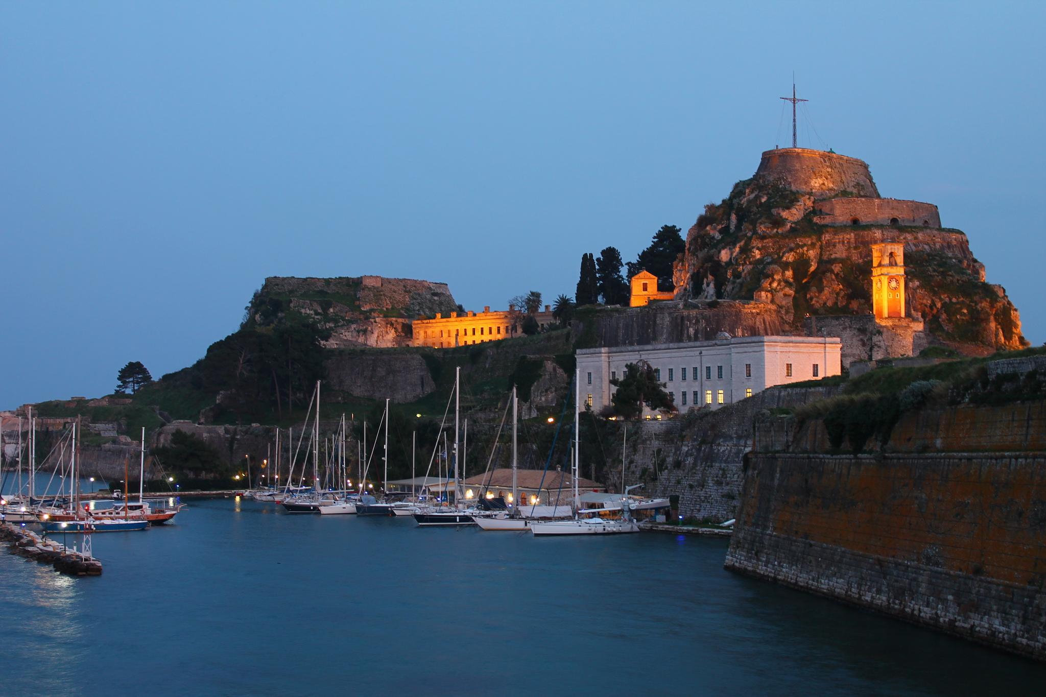 Old Fortress, Corfu by Stavroula Nouvaki