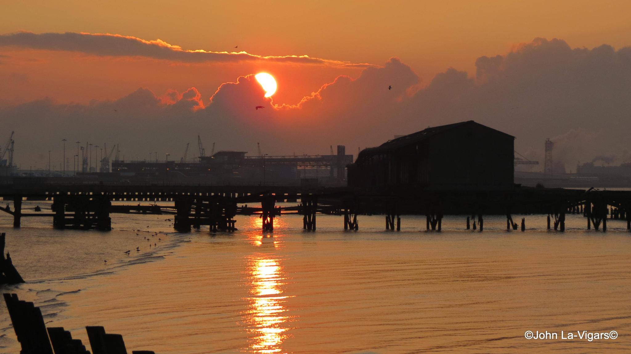 Sunrise by JohnLaVigars