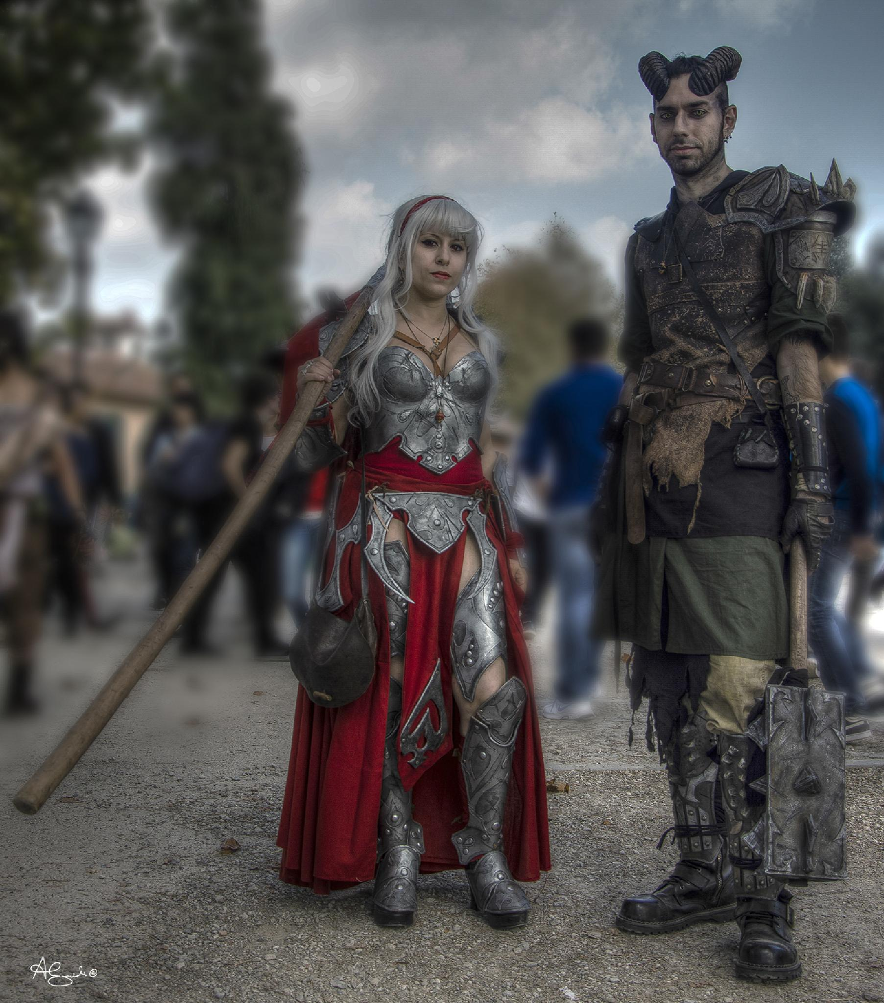 Lucca Comics 2014 by andrea.guidi.po