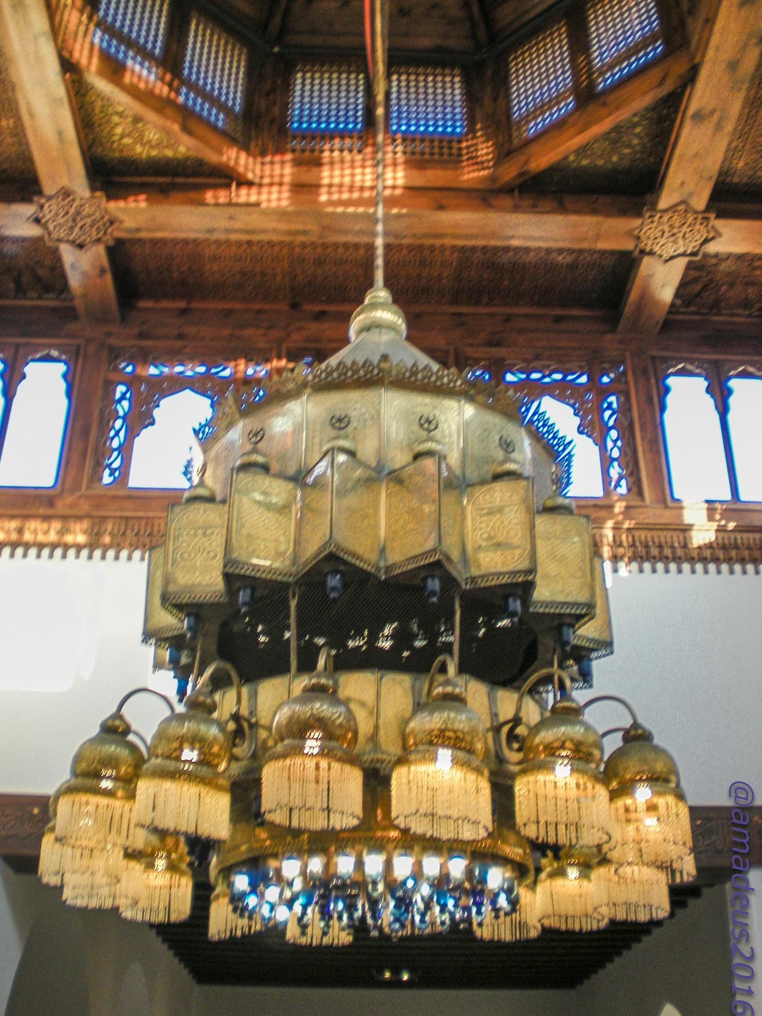 Egyptian lamp by Amadeo Meg