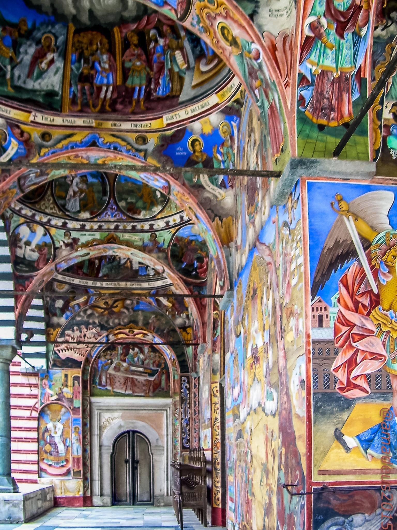 Rila's Monastery by Amadeo Meg