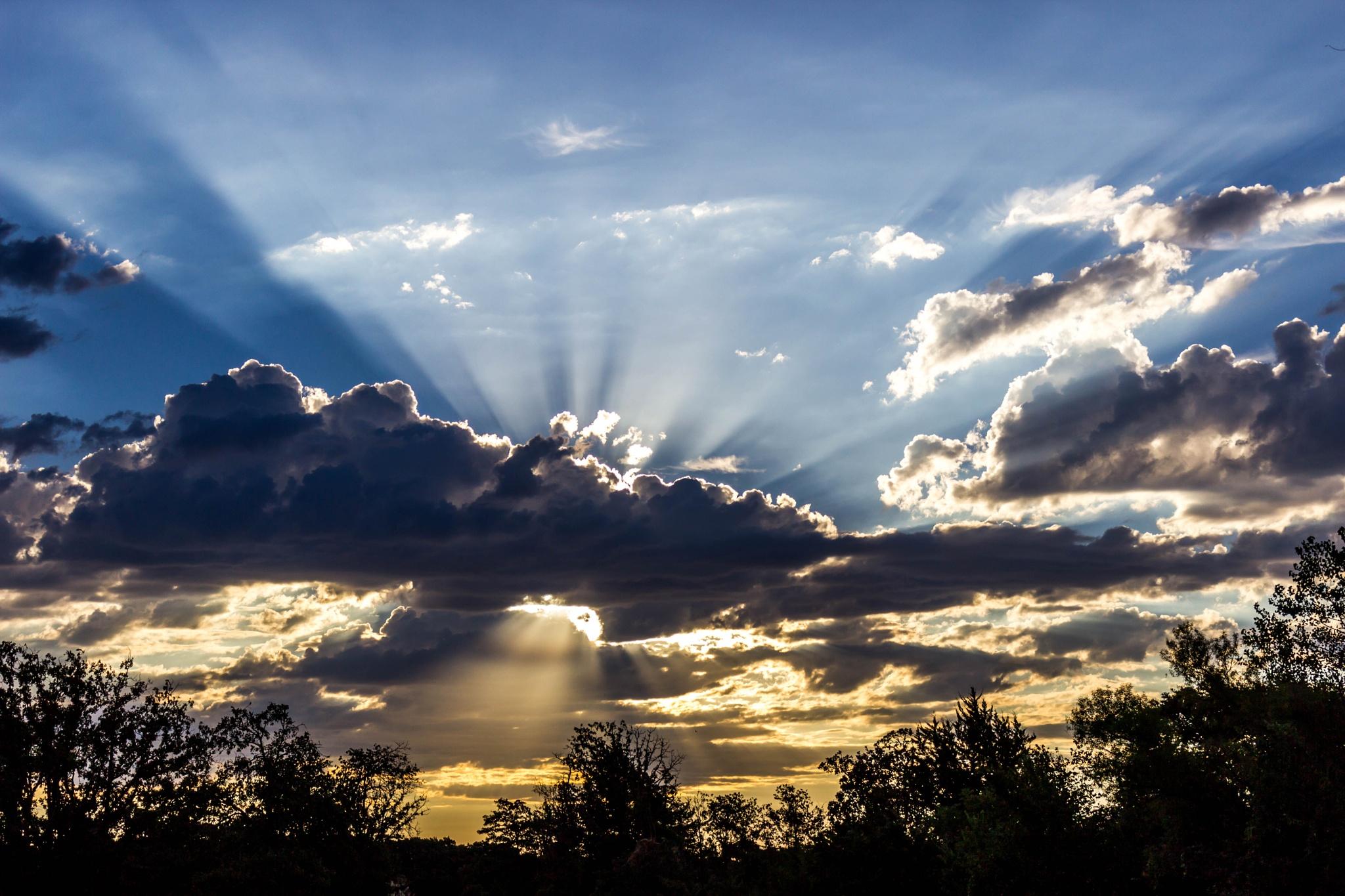 Sunrise Rays by Keith Fife