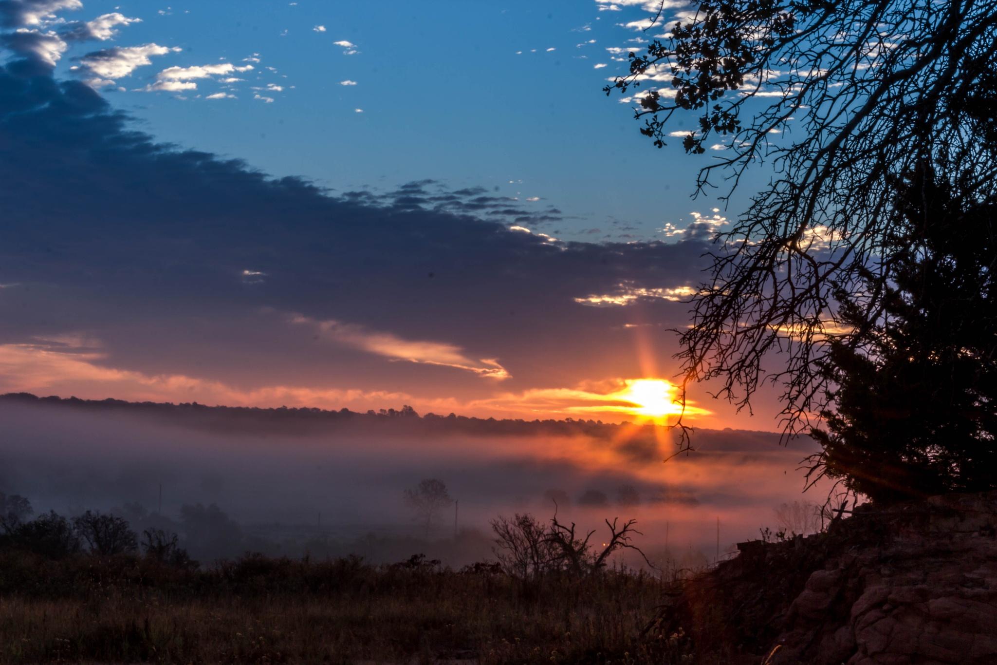 Sunrise Fog by Keith Fife