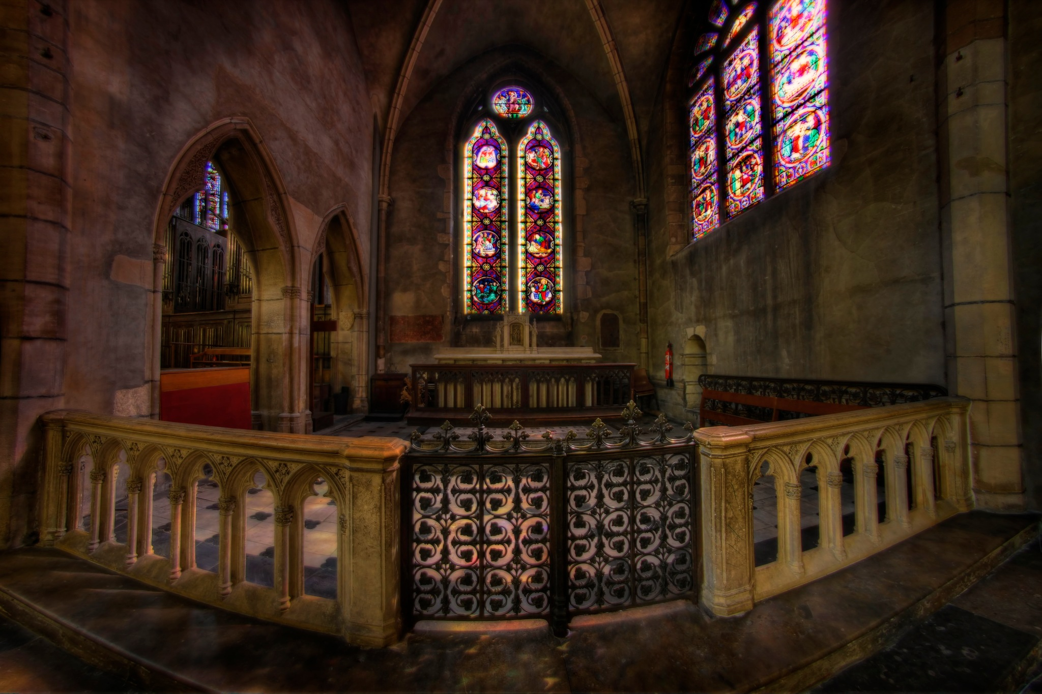 Church in Lyon by bolino