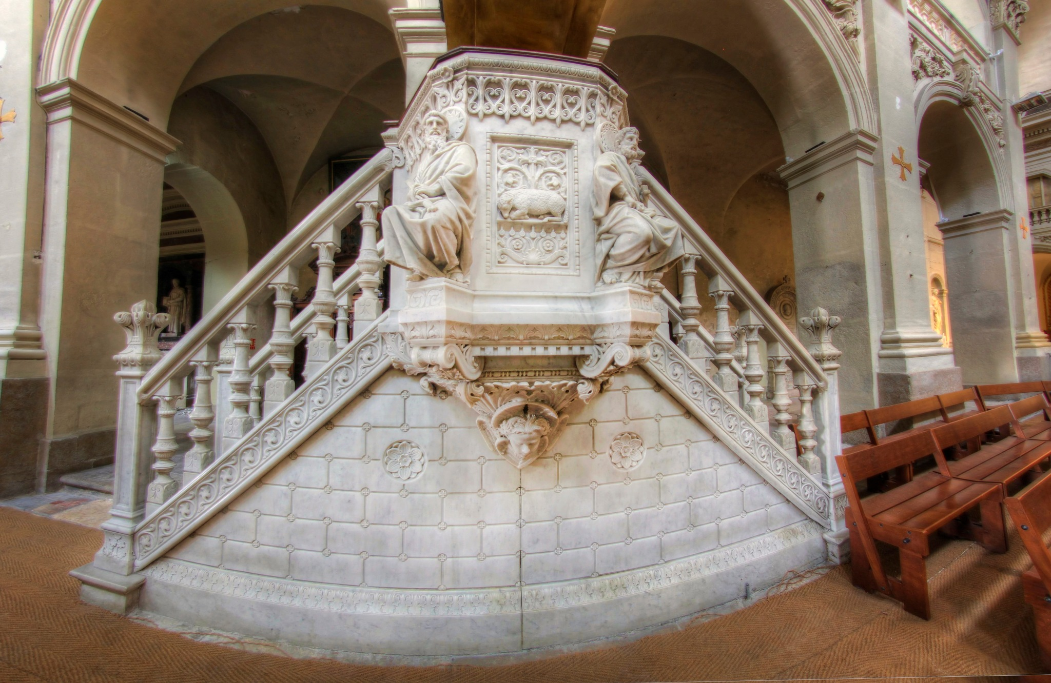 Saint Polycarpe church - Lyon by bolino