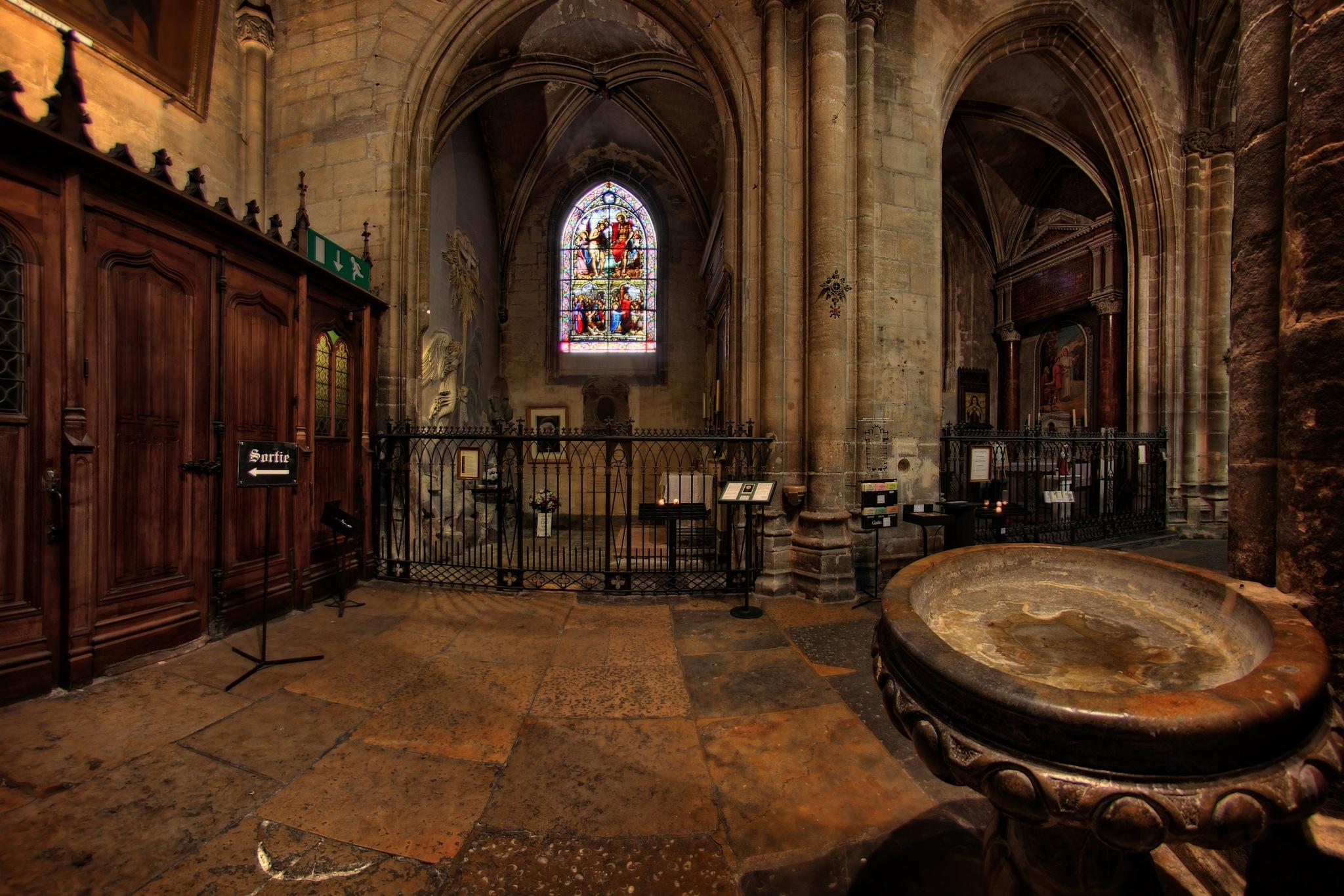 Lyon - Eglise Saint Nizier by bolino