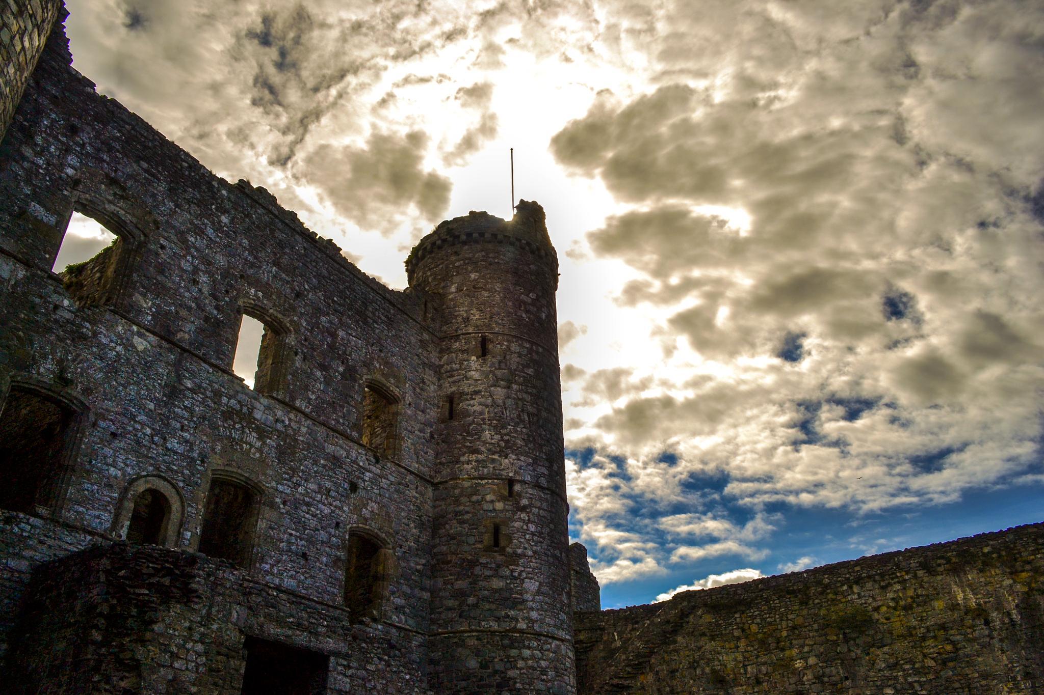 Inside Harlech Castle by howard.rollinson