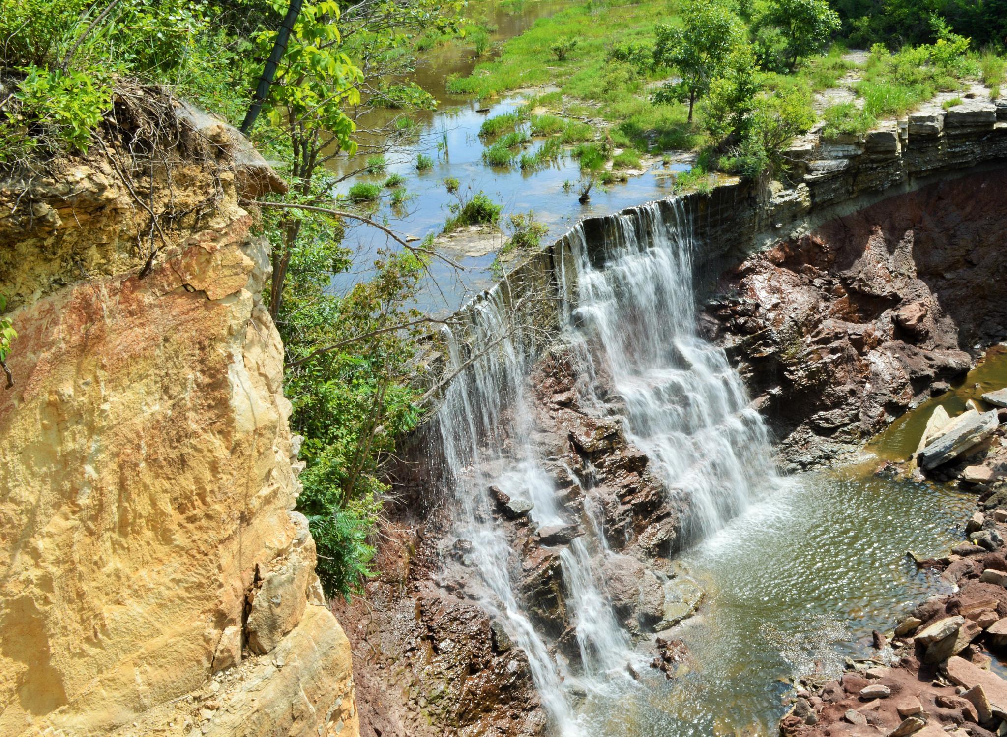 Kansas Waterfalls by VickiB