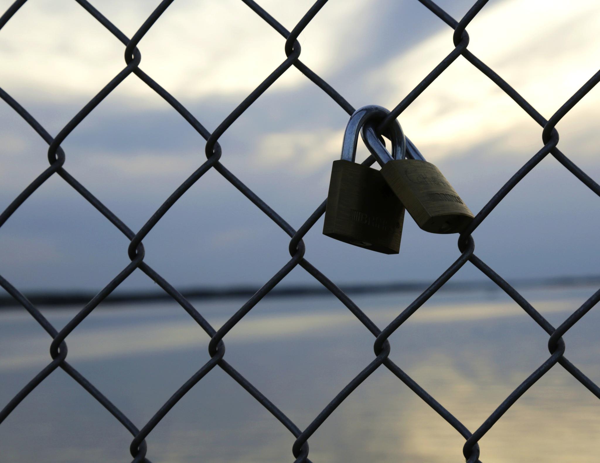Locked up by Robert Hopkins (Hop) Ridgell