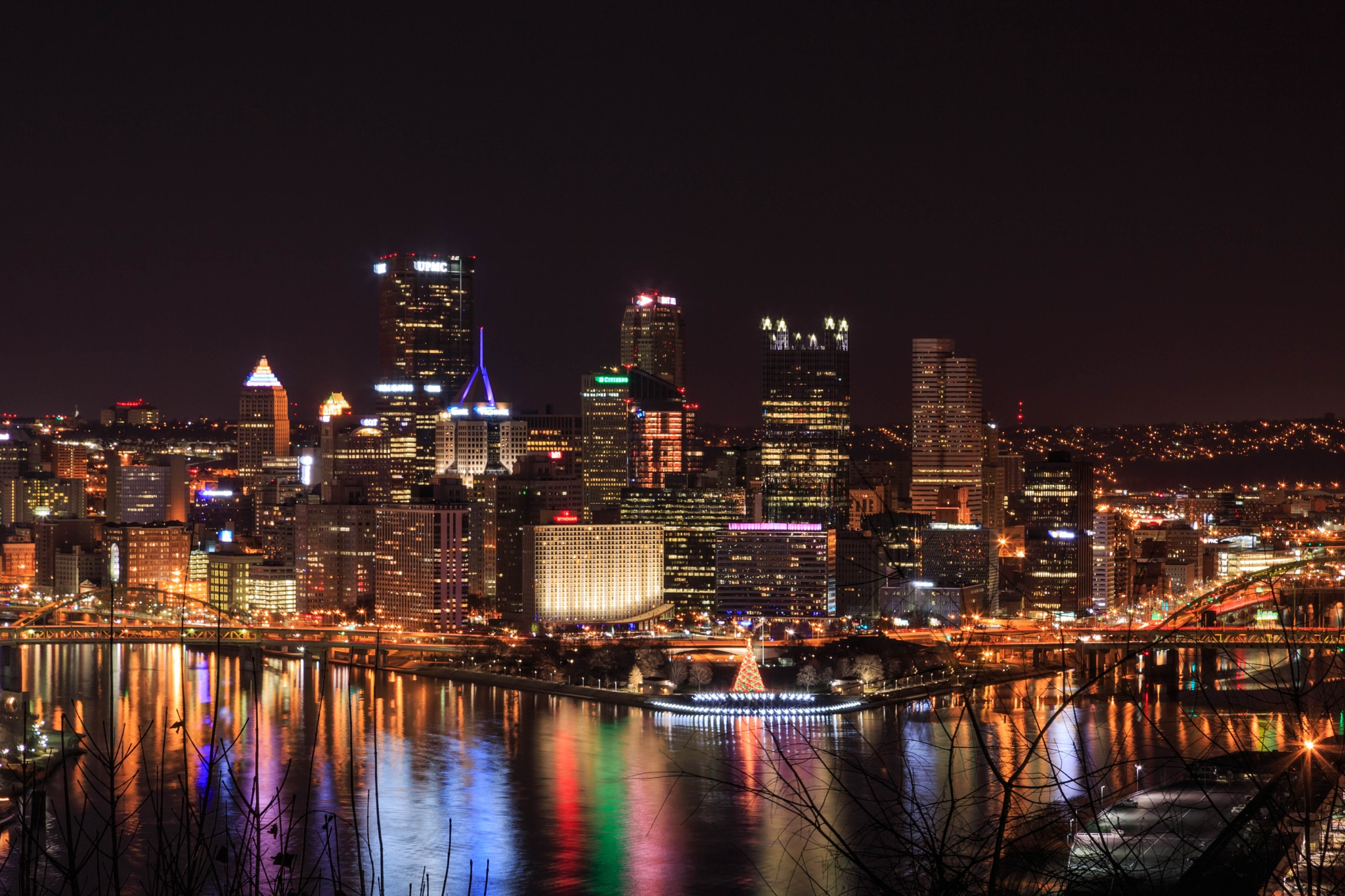 Lights of Pittsburgh by dorothy.pierinirodgers