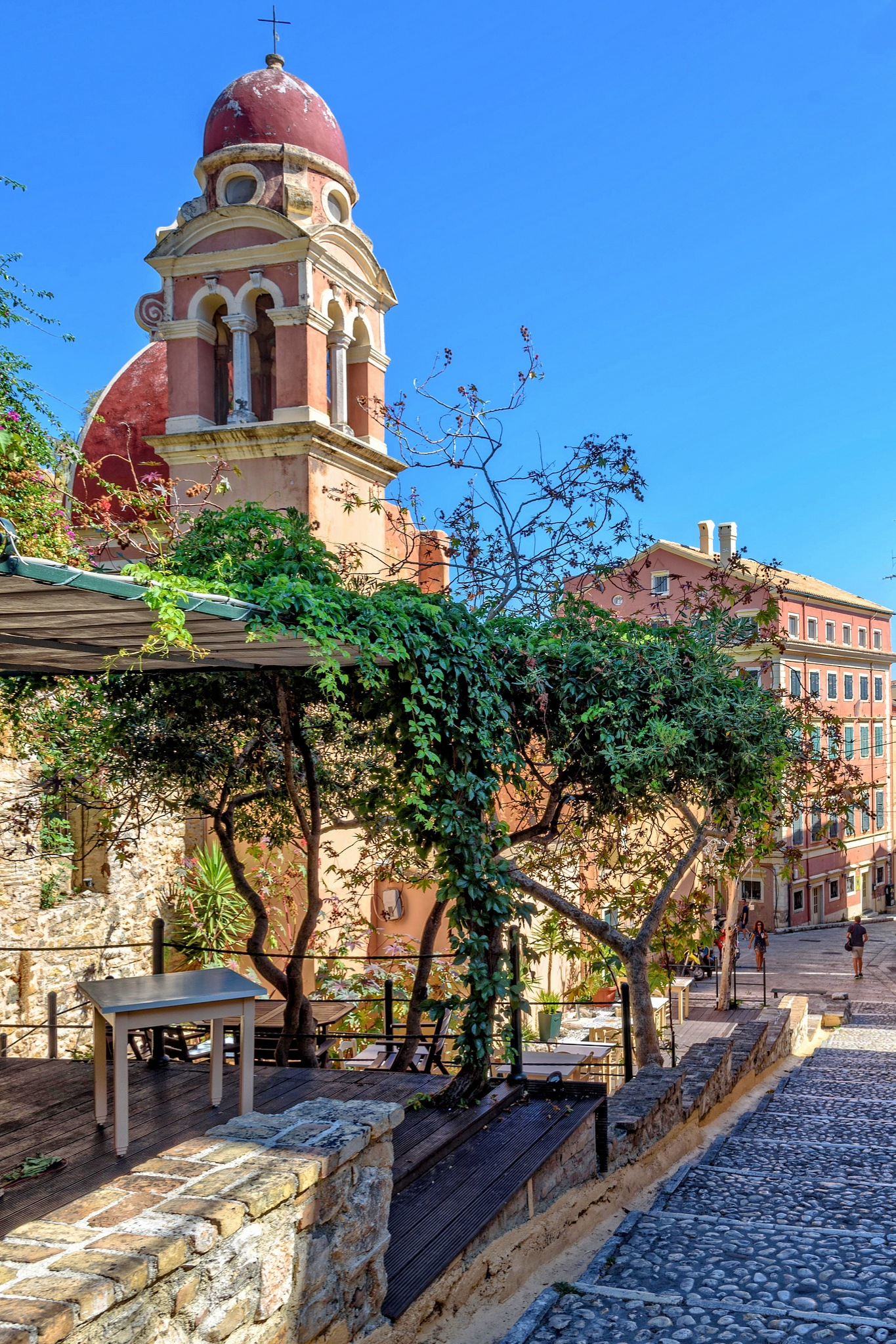 Spot of Corfu. by Stamatis Vlahos