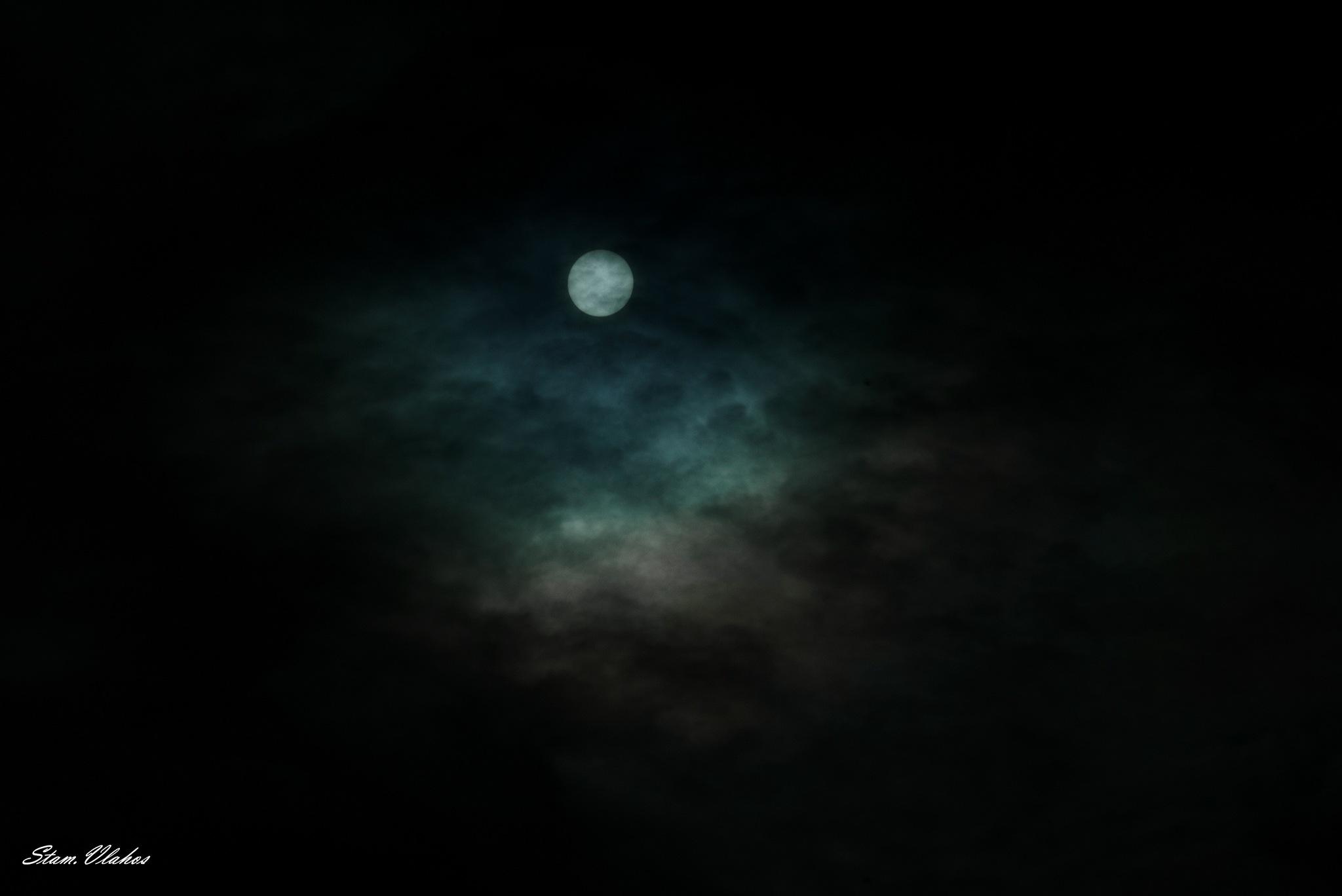 Mystery moon by Stamatis Vlahos