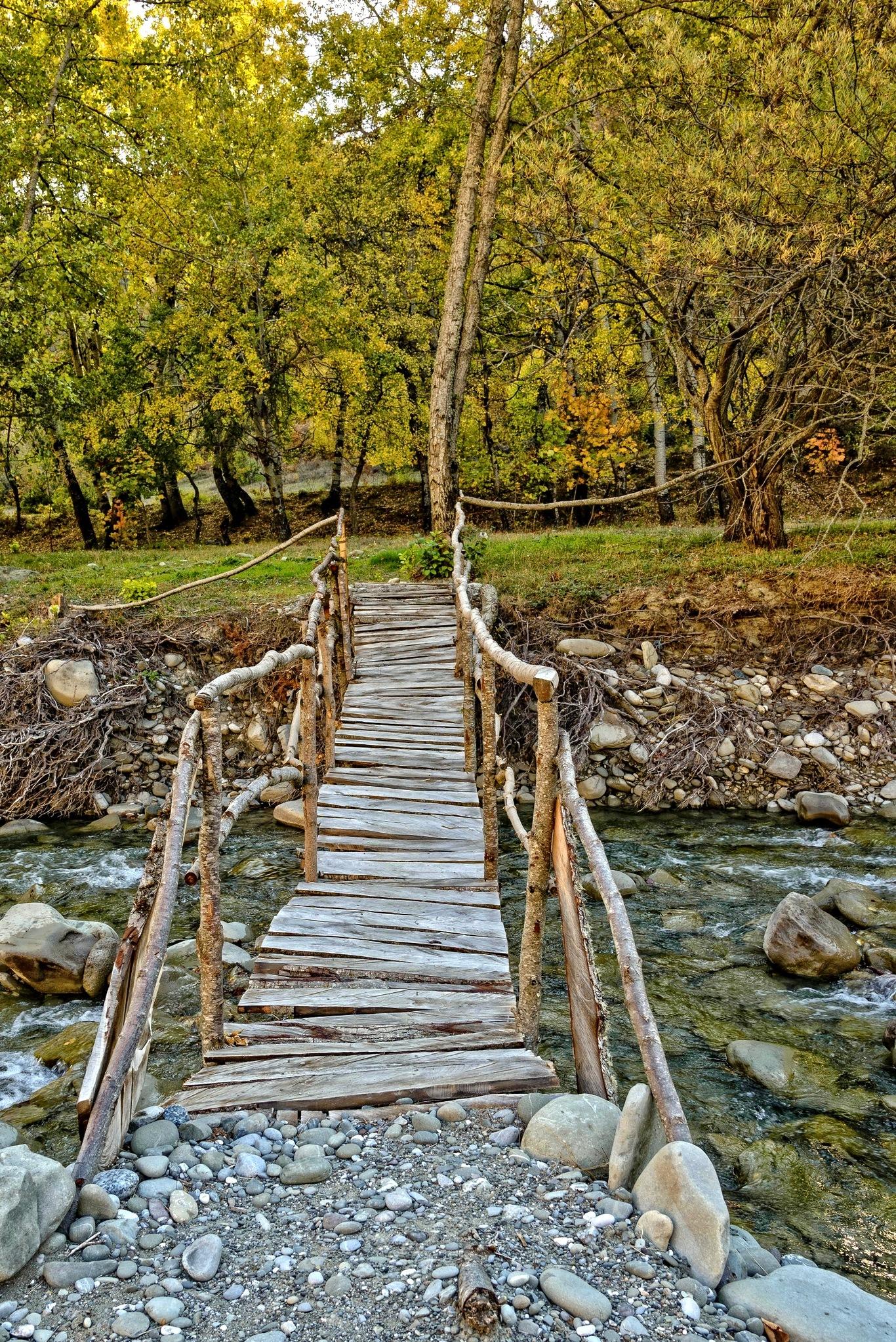 The bridge to paradise. by Stamatis Vlahos
