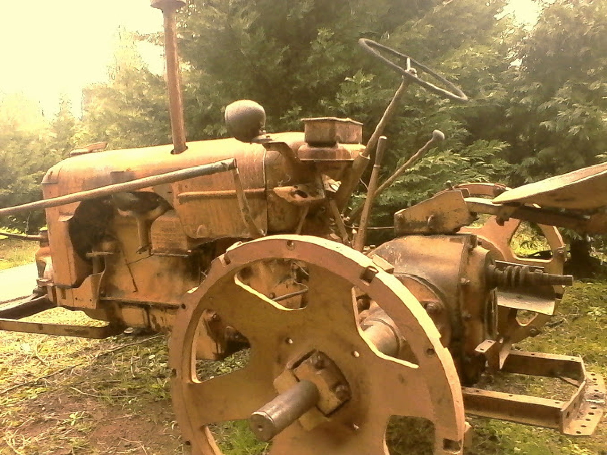 Rusty Tractor by Laurence C.