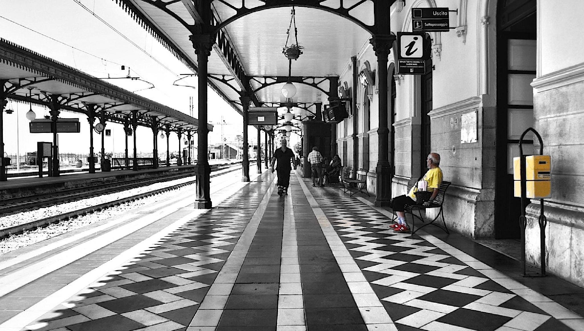 Photo in Architecture #italy #sony #siciliy #railway #godfather