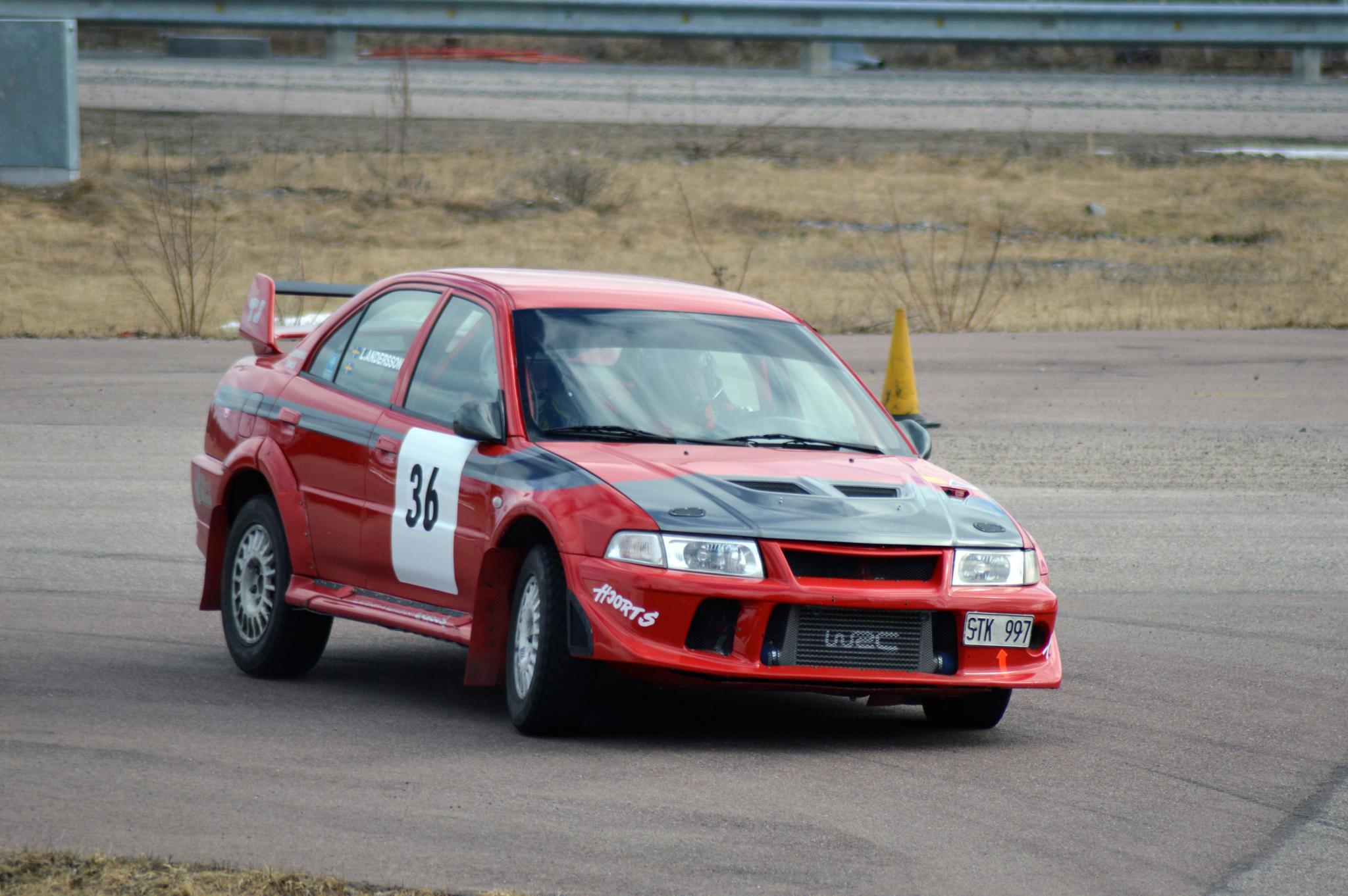 Mitsubishi WRC by Kåre