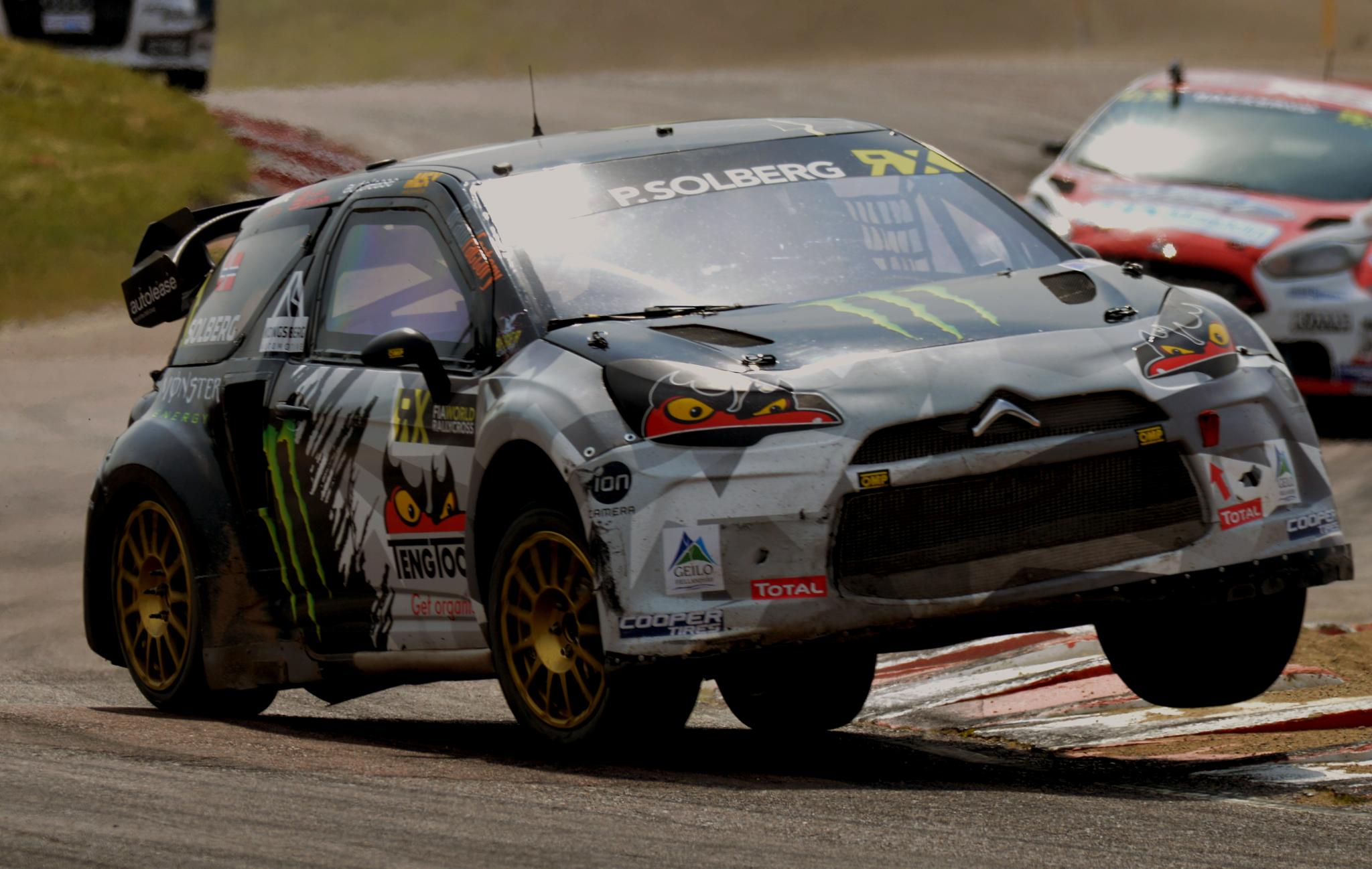 Photo in Sports #solberg #rx #rallycross #citroen #ds3