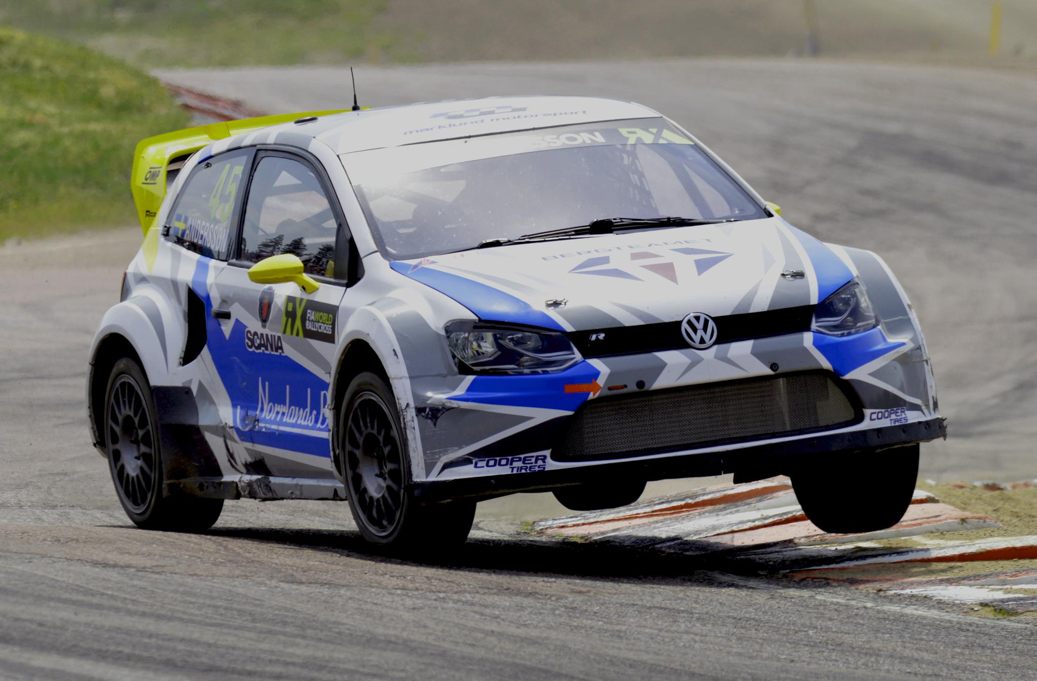 Photo in Sports #rx #rallycross #polo #vw #volkswagen #pgandersson #nikon #d3200
