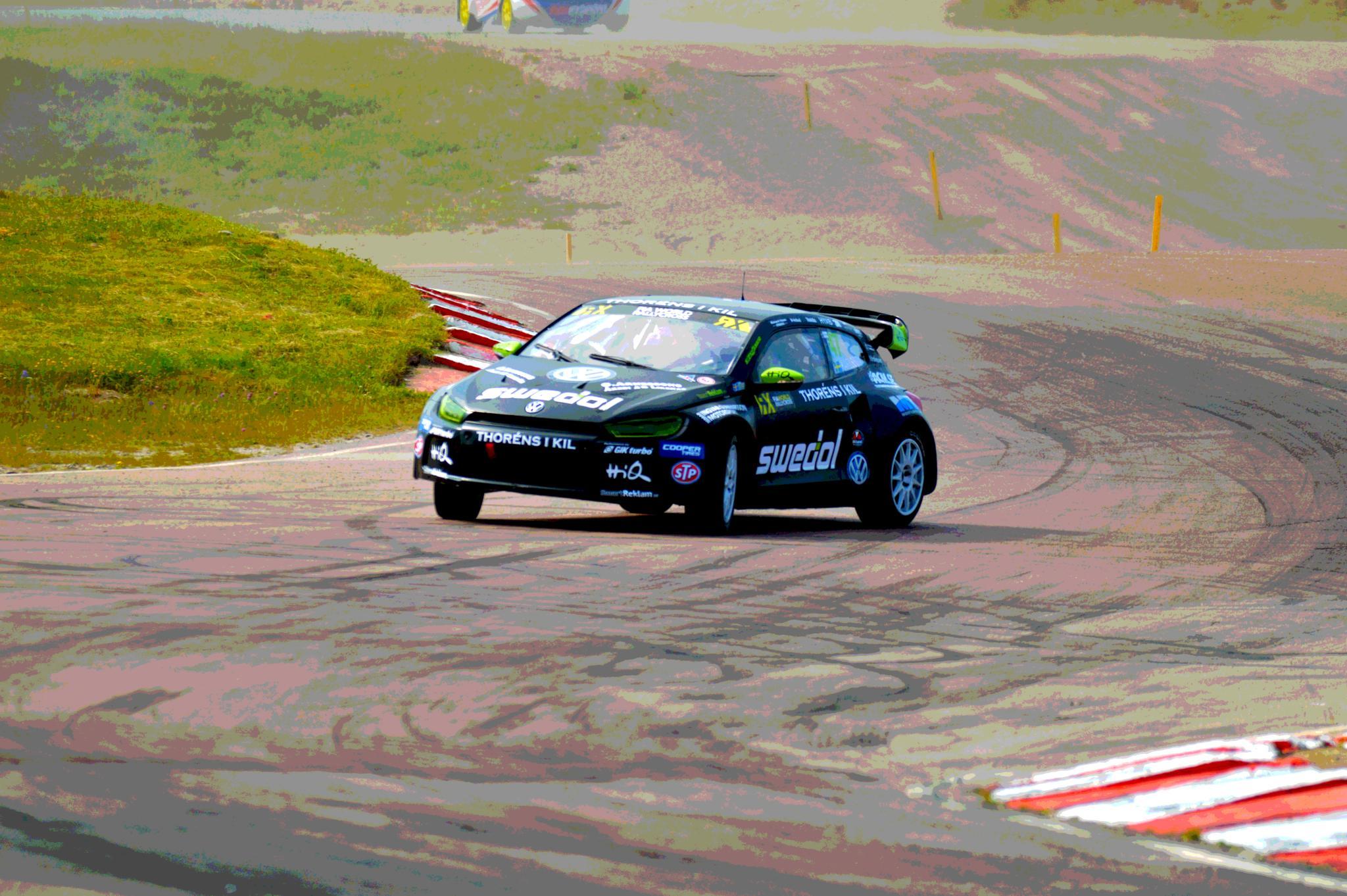 Photo in Sports #sweden #rx #rallycross #supercar #car #vw #volkswagen #ramona karlsson
