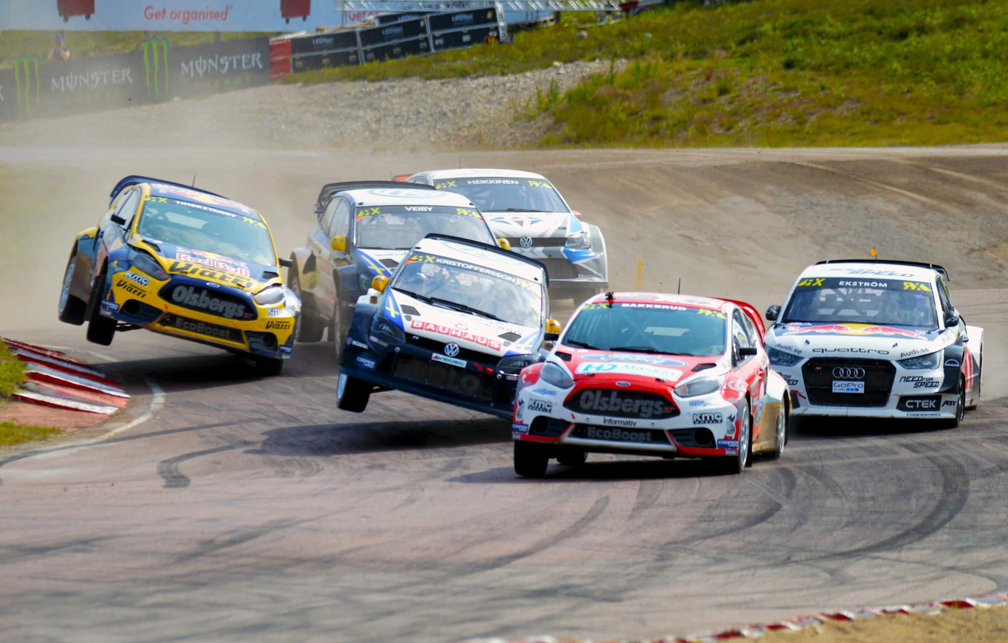 Photo in Sports #rx #rallycross #supercar #höljes #motorsport #ford #vw #audi #quattro #car #themagicweekend