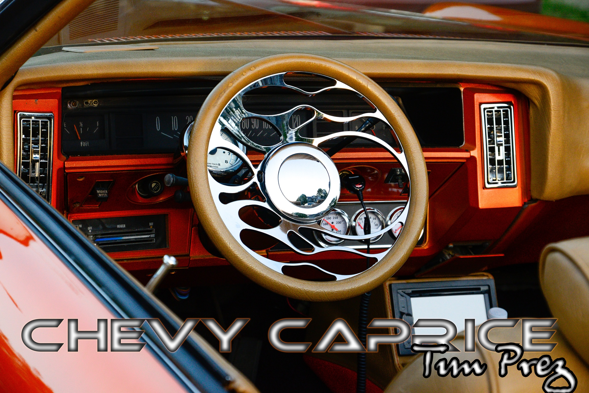 73 CHEVY CAPRICE by picturemeperfectphotography