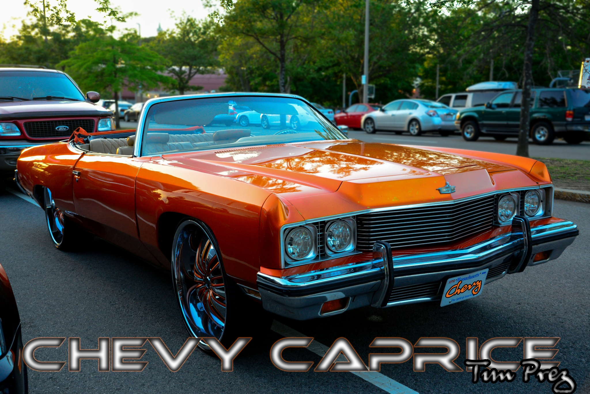 CHEVY CAPRICE AT WASHINGTON PARK.. by picturemeperfectphotography