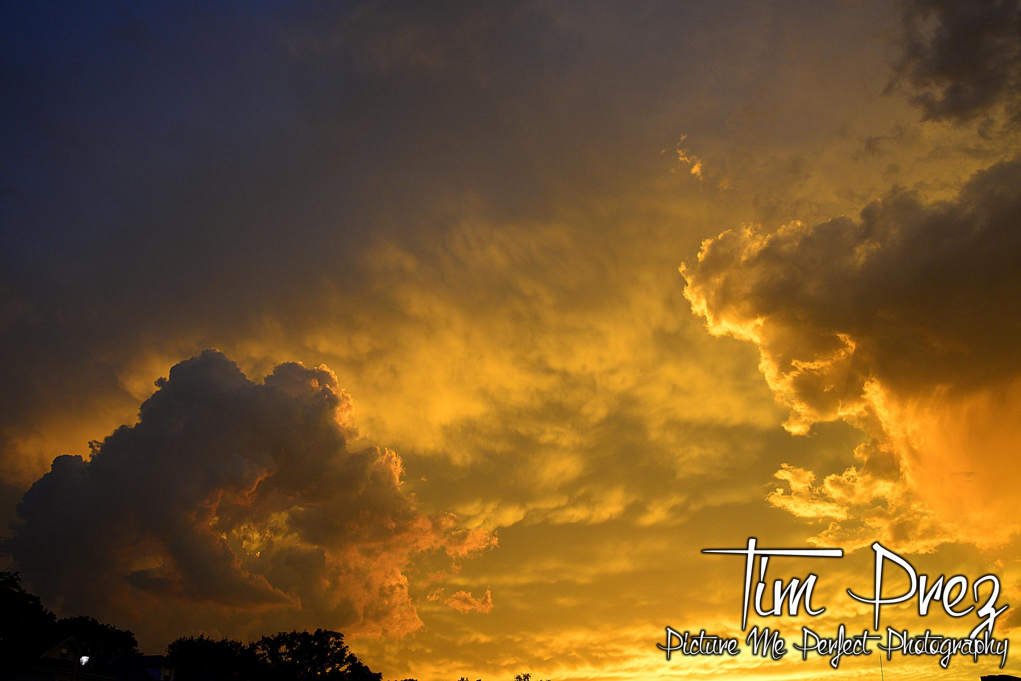 Awesome Sunset tonight by picturemeperfectphotography