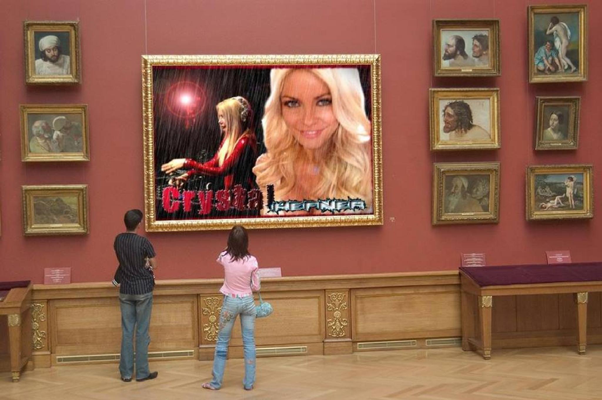 Crystal (Mrs Playboy) Hefner by Benjamin Sanchez