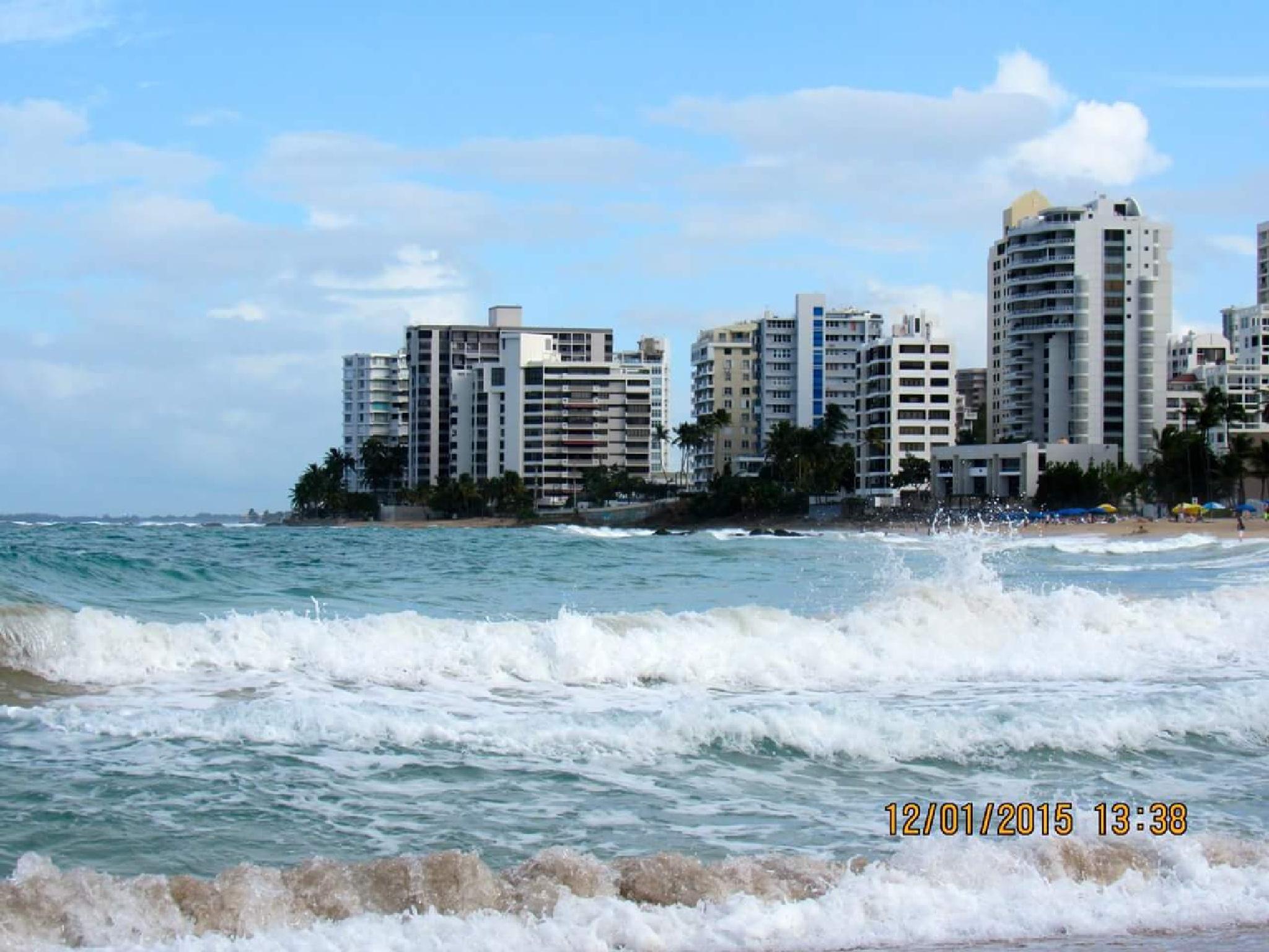 Beach in New San Juan Puerto Rico  by terri.clardy.7