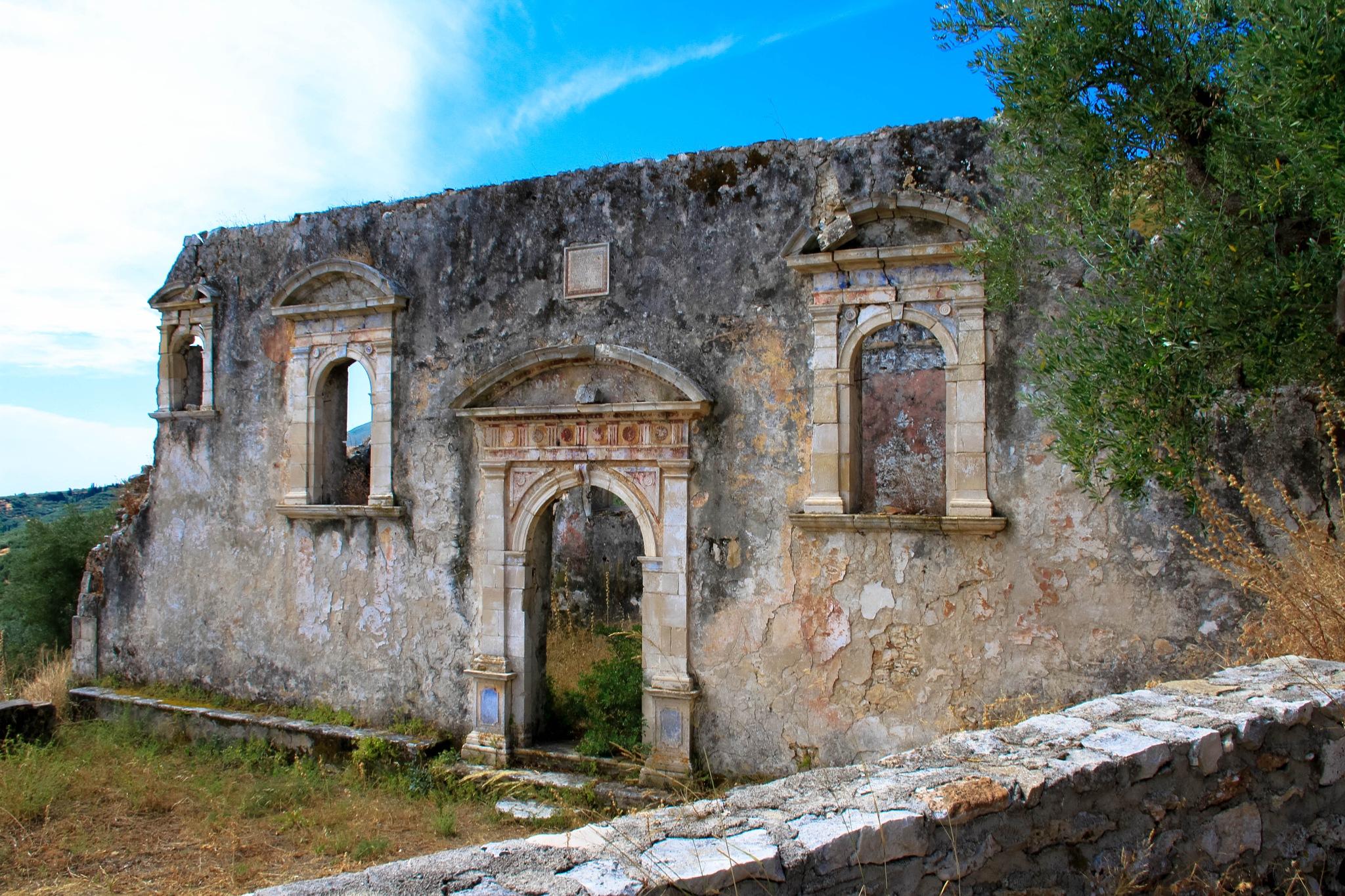 Derelict Church by Martin Roper