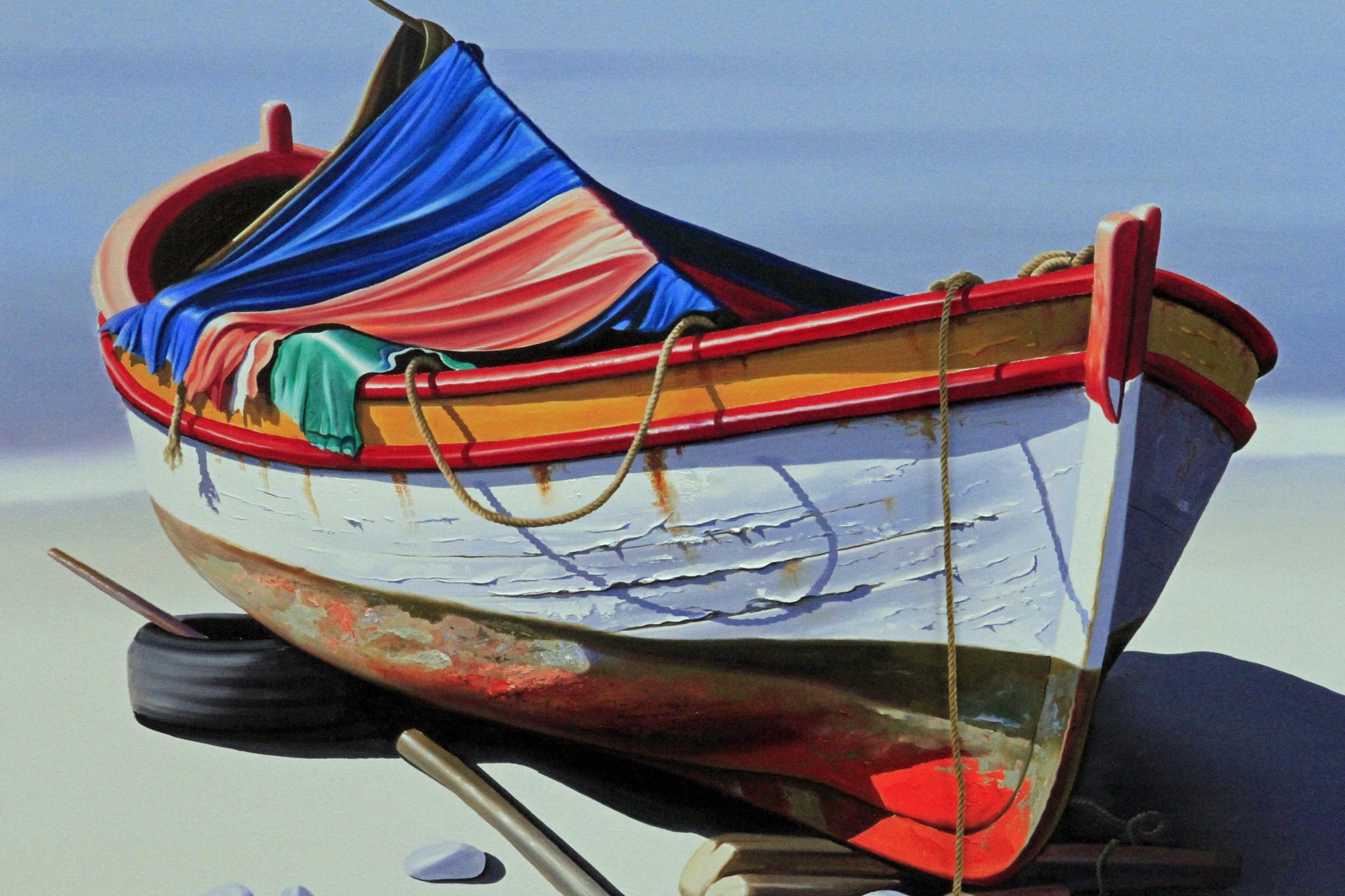 Boat Art by Martin Roper