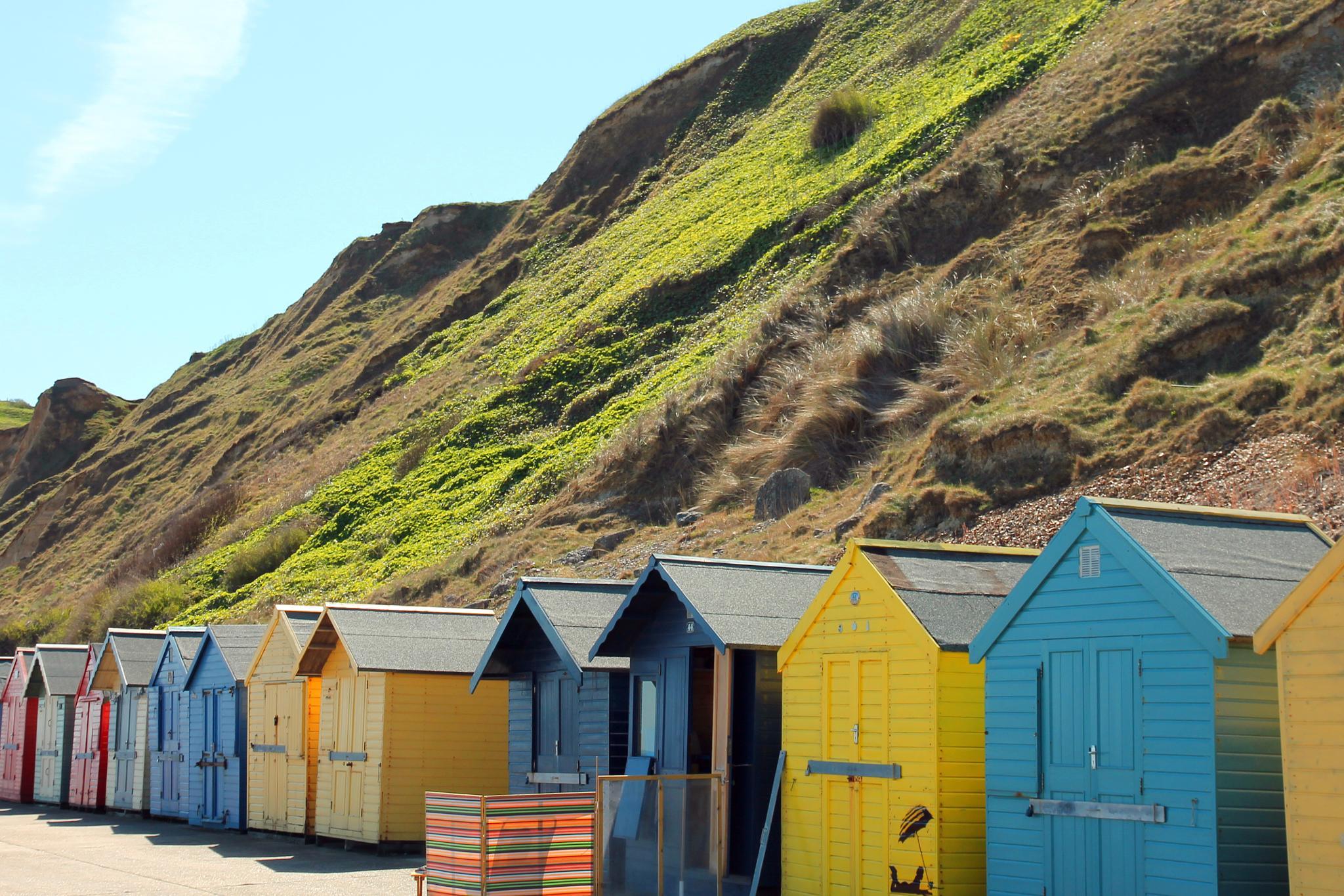 Beach Huts by Martin Roper