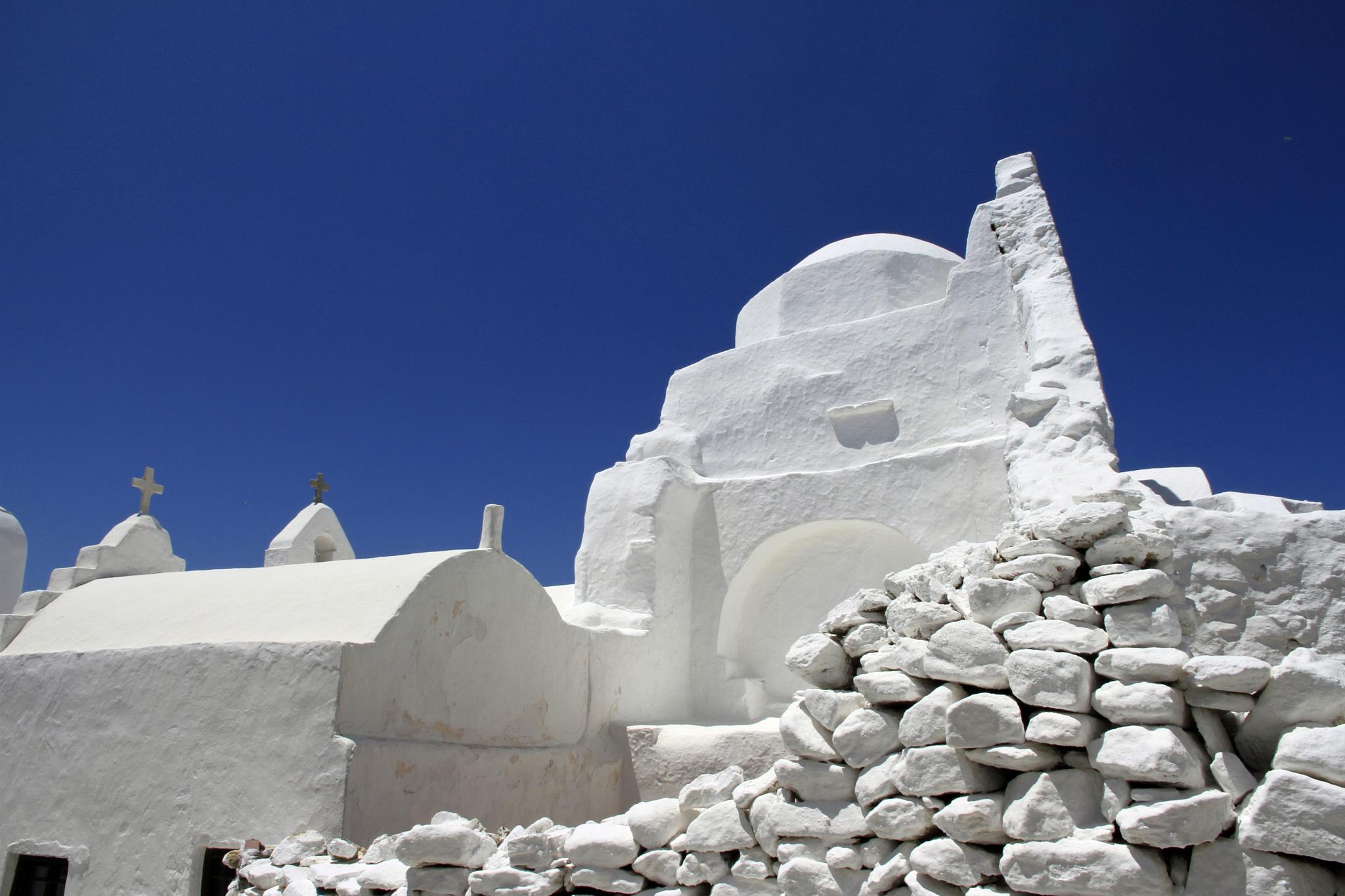 Whitewashed churches by Martin Roper