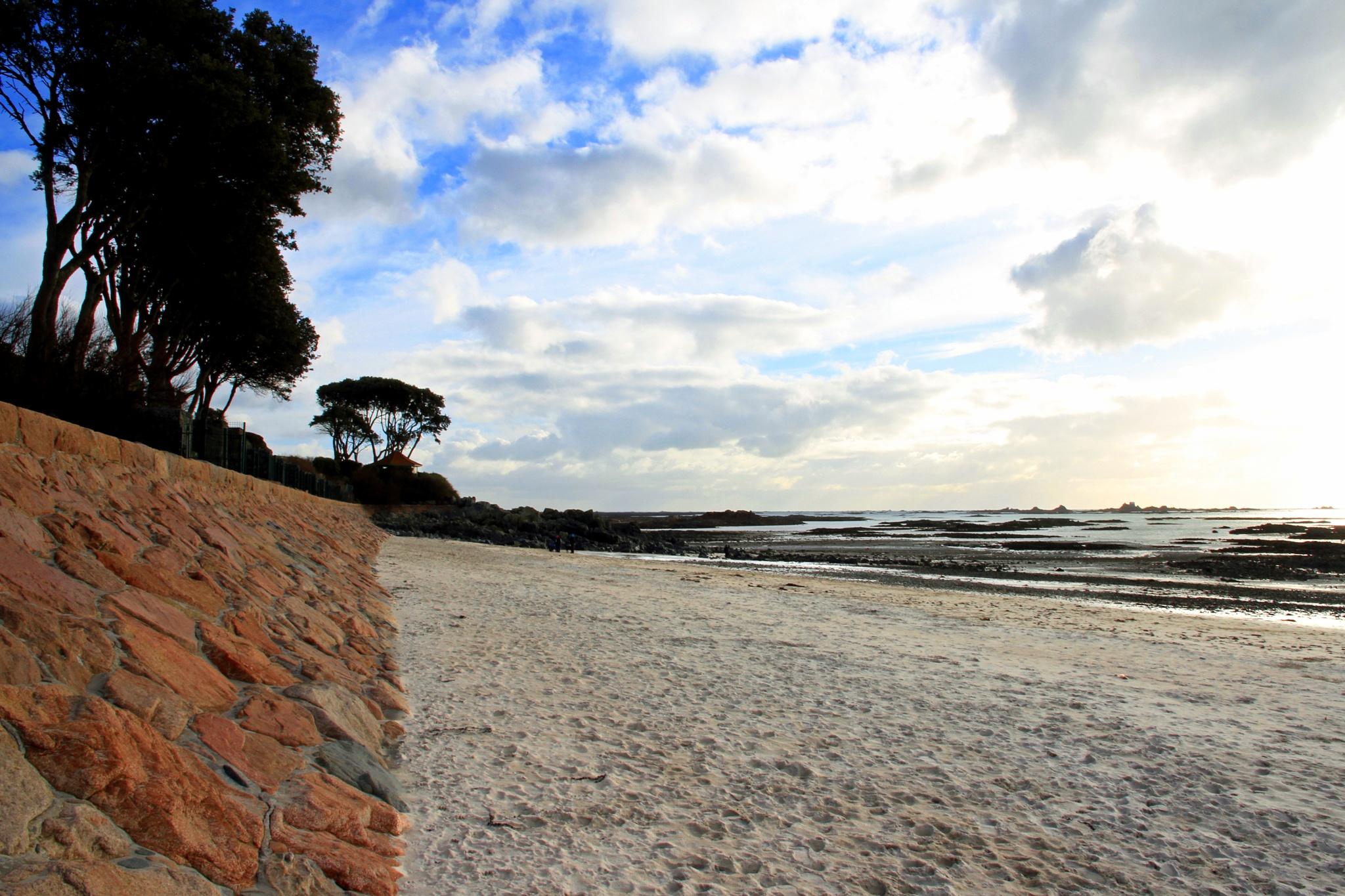 Deserted Beach by Martin Roper