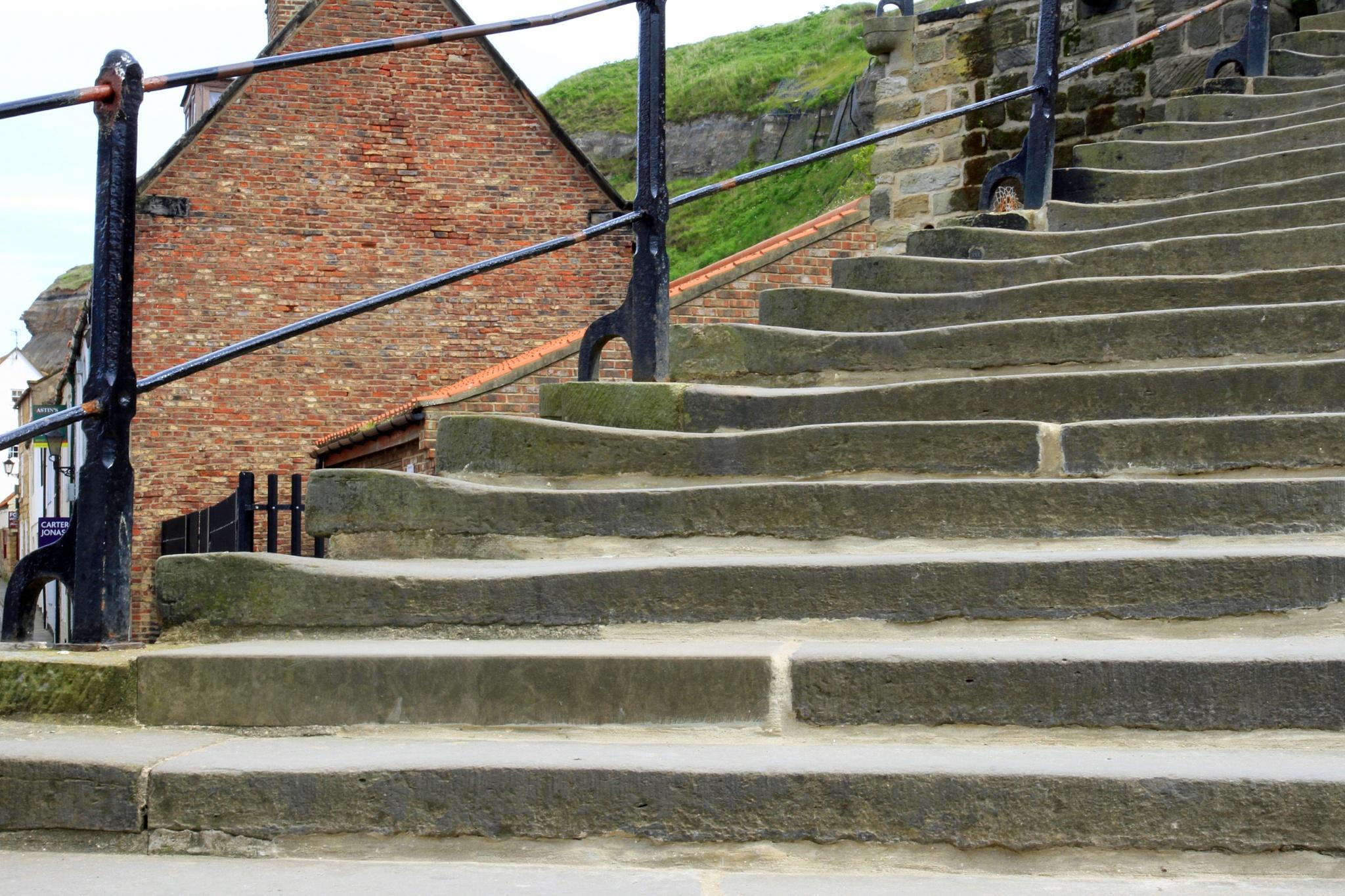 Worn Steps by Martin Roper