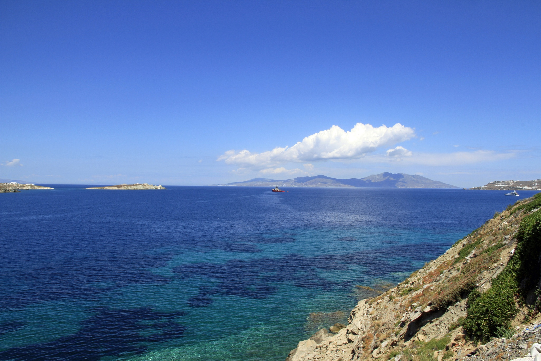 Blue Mykonos by Martin Roper
