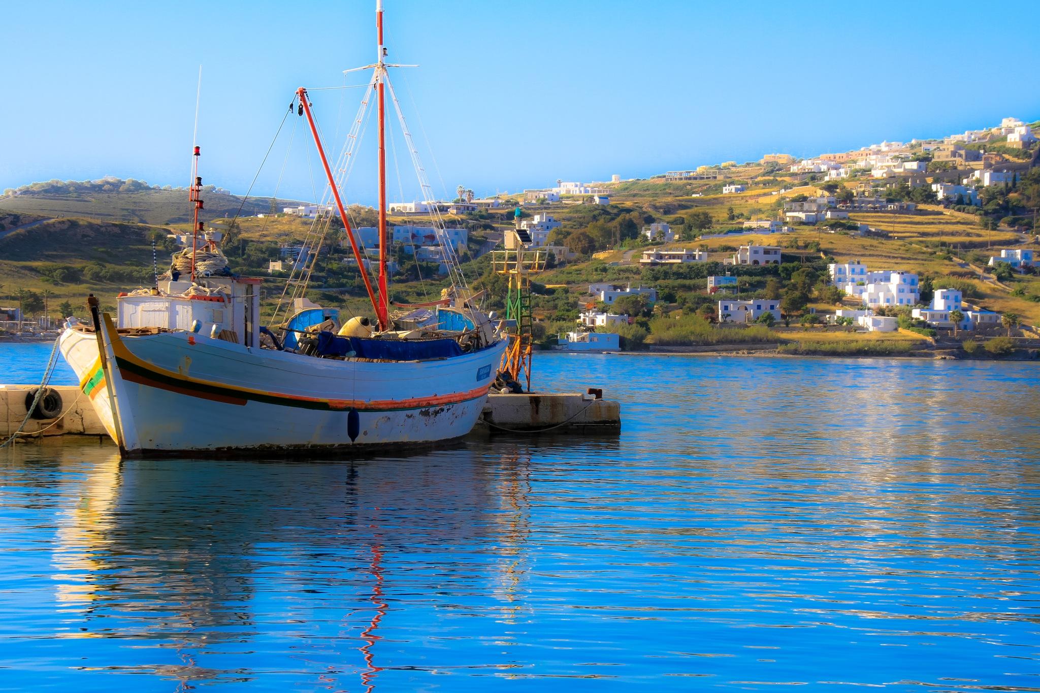 Fishing Boat by Martin Roper
