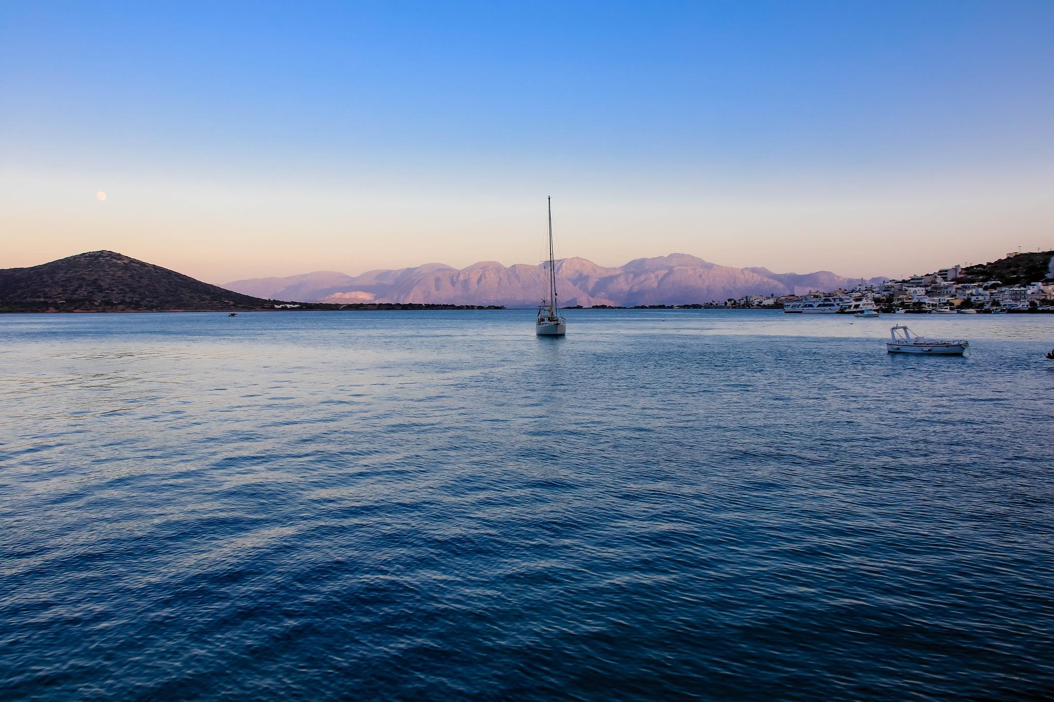 Boats at Dusk by Martin Roper